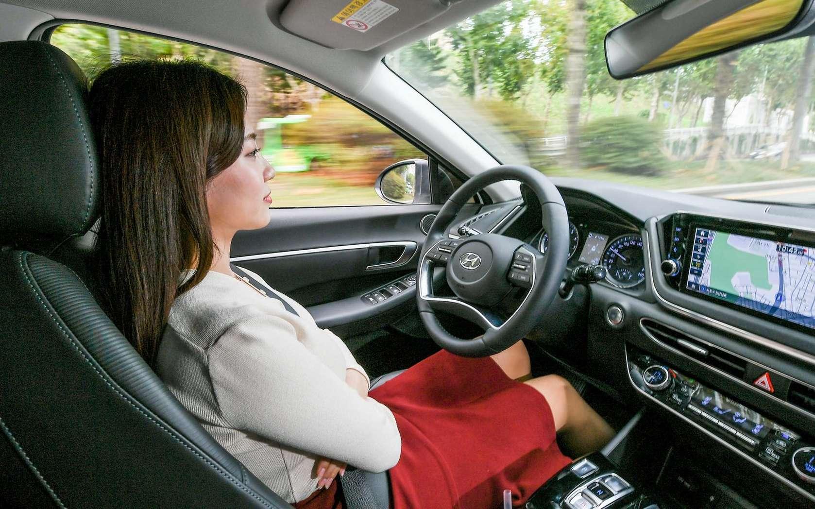 Hyundai espère rendre son régulateur de vitesse moins dérangeant en copiant le style du conducteur. © Hyundai