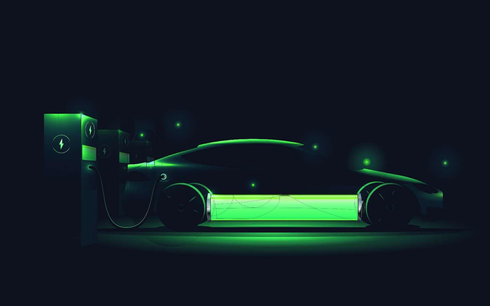 Expérience réussie pour recharger une voiture électrique en 10 minutes. © paul_craft, Adobe Stock