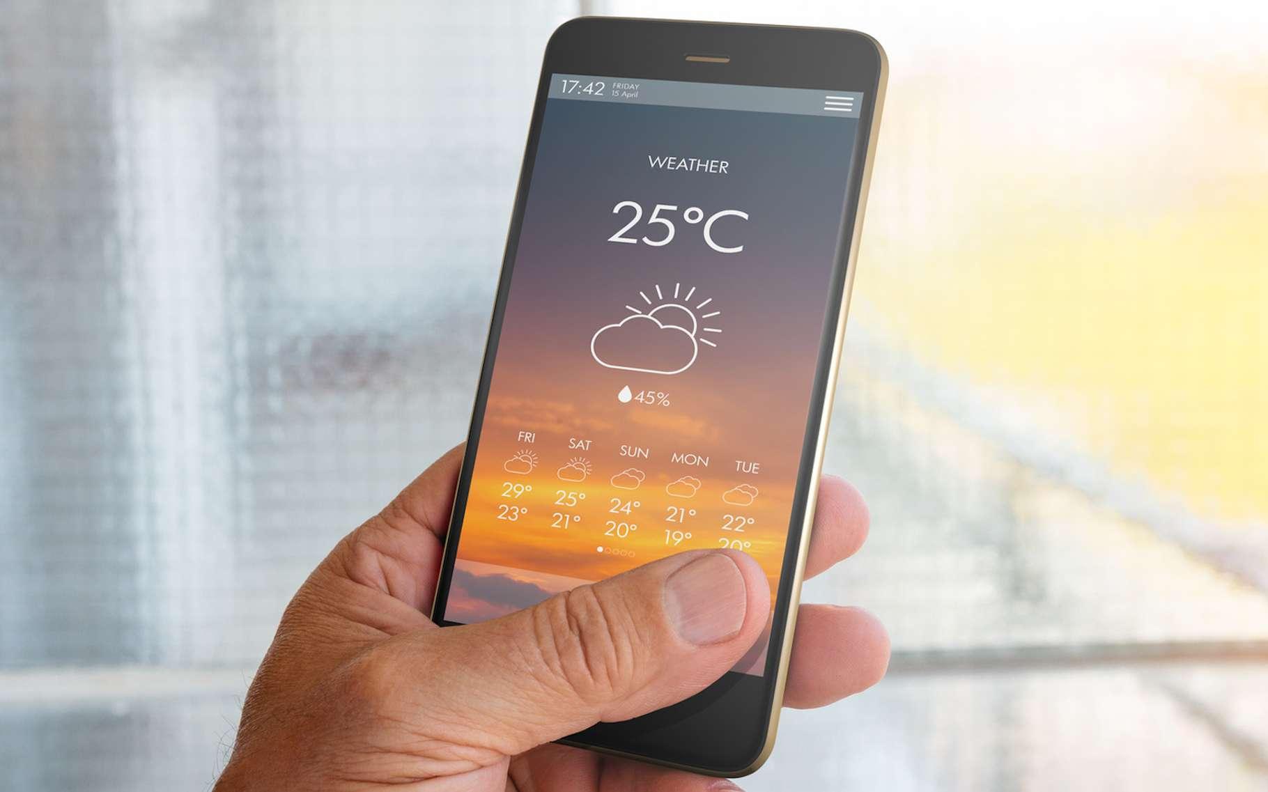 Les prévisions météo se posent sur un laps de temps beaucoup plus court que les modèles climatiques. ©Marc, Fotolia