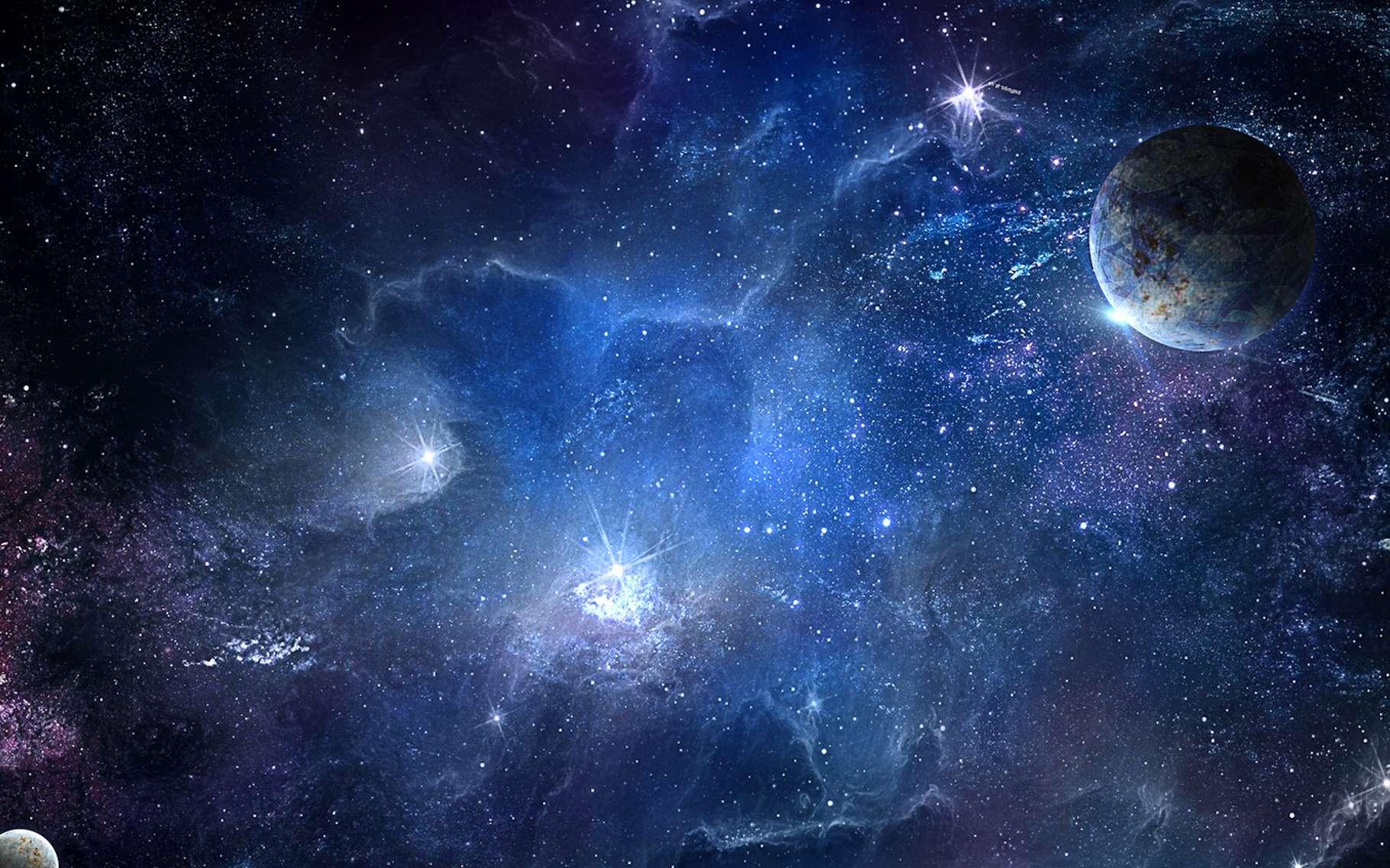 Grâce à un algorithme qui prend en compte la courbe de luminosité réelle des étoiles, des chercheurs ont découvert 18 exoplanètes de la taille de la Terre. © pechenka_123, Fotolia