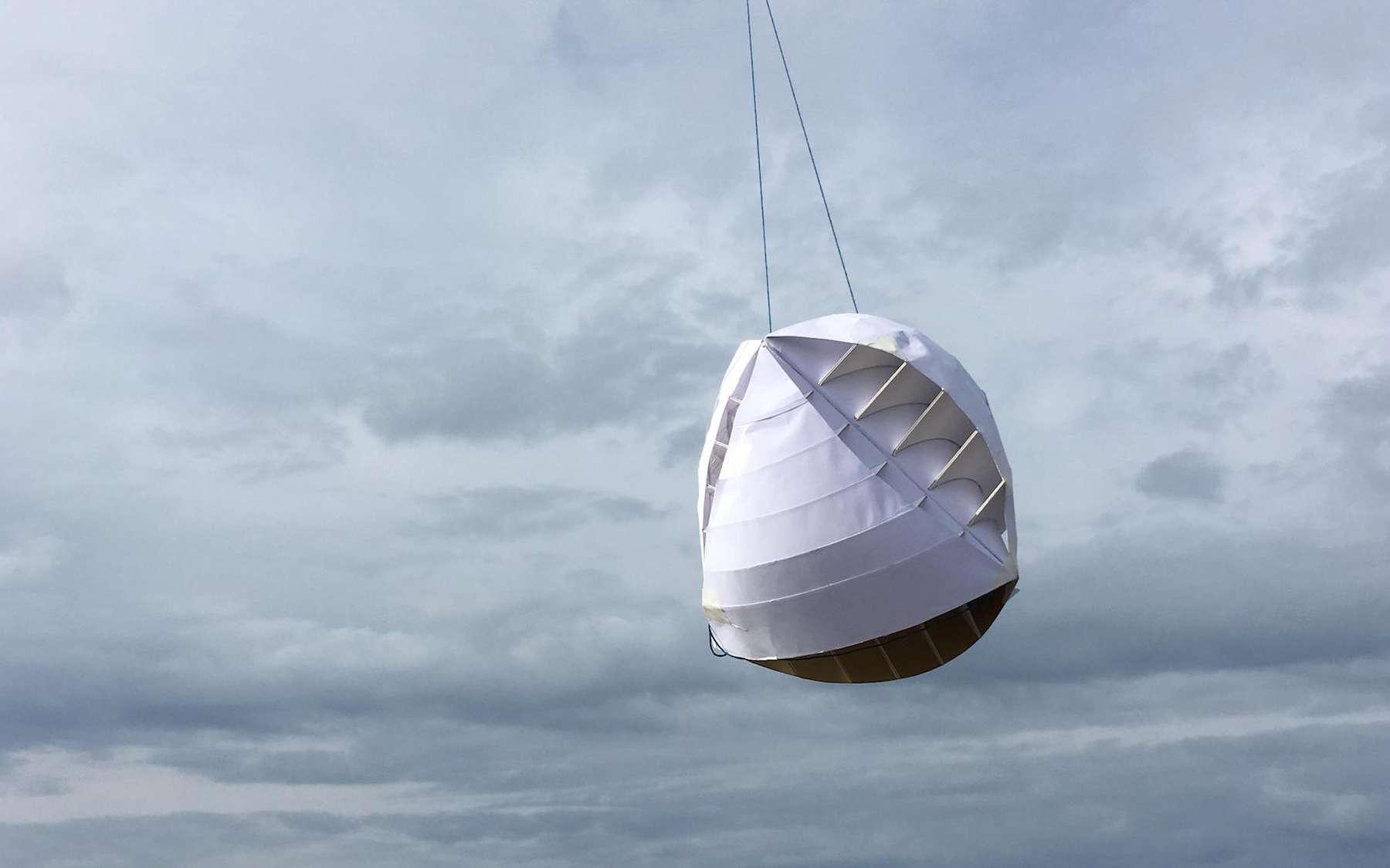 L'O-Wind, une éolienne sphérique pour les habitations urbaines, remporte le premier prix international du James Dyson Award 2018. © James Dyson Award