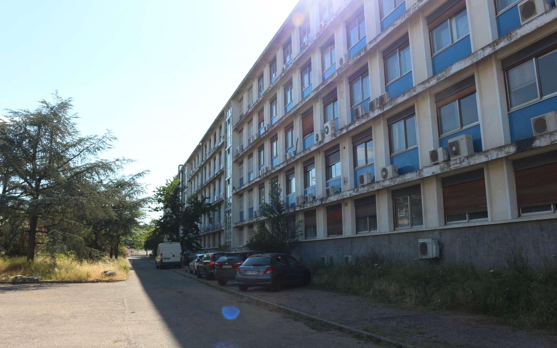Les laboratoires de l'équipe de Nathalie Volkoff sont dans le bâtiment 24. © Eléonore Solé