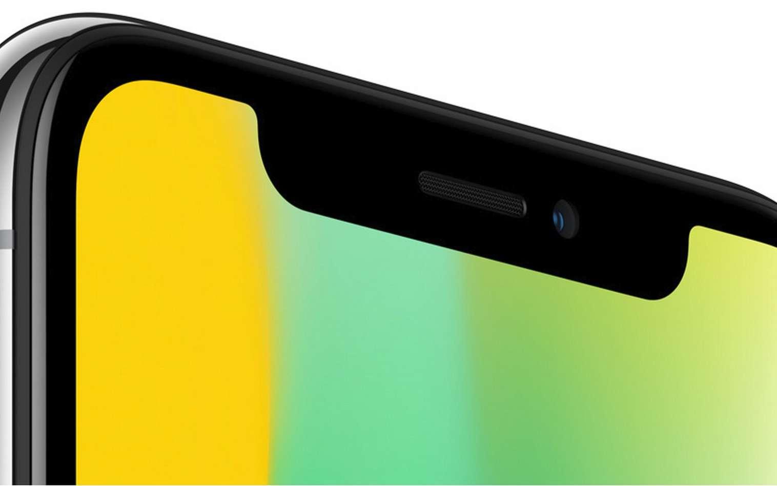 L'iPhone X d'Apple est le premier smartphone à faire de la reconnaissance faciale son principal système de sécurité. © Apple