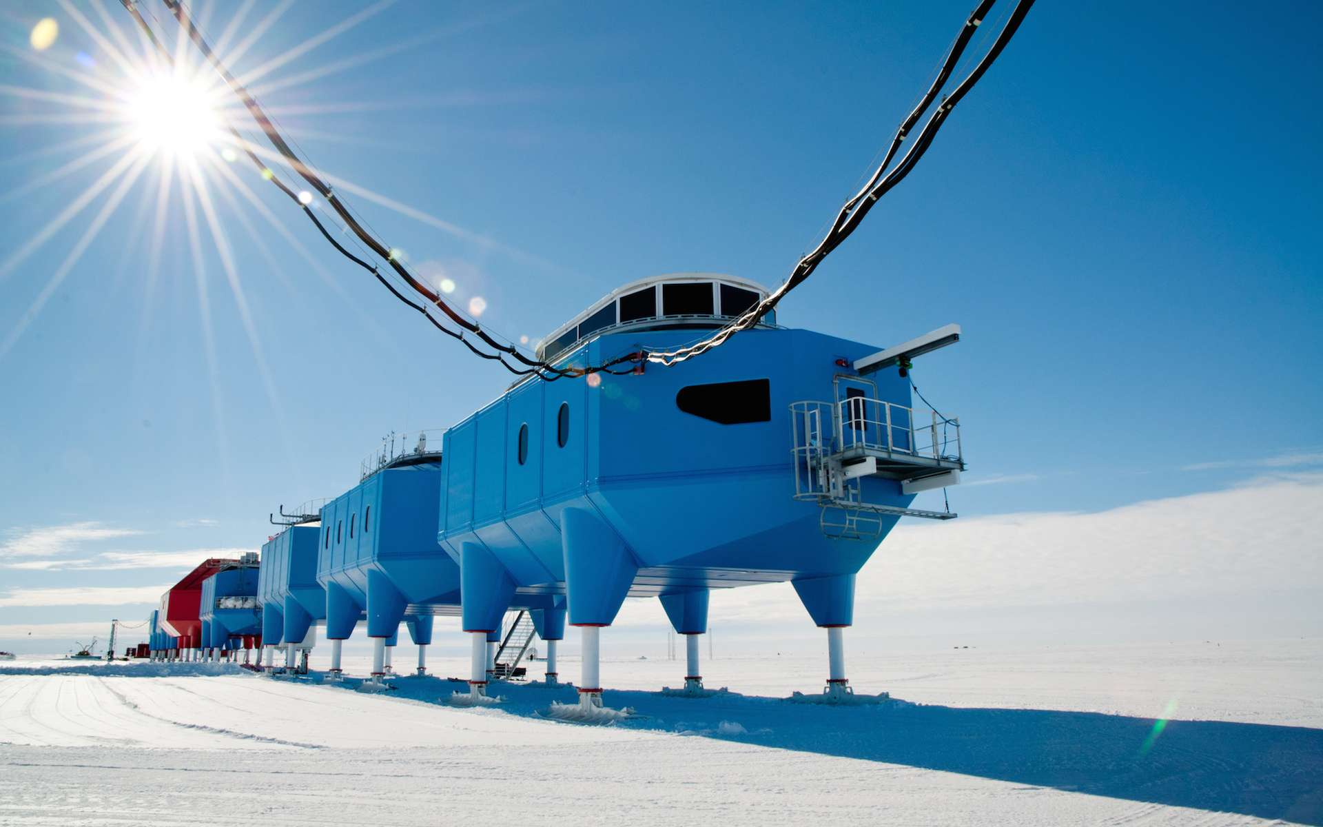 La station scientifique Halley VI. © British Antarctic Survey