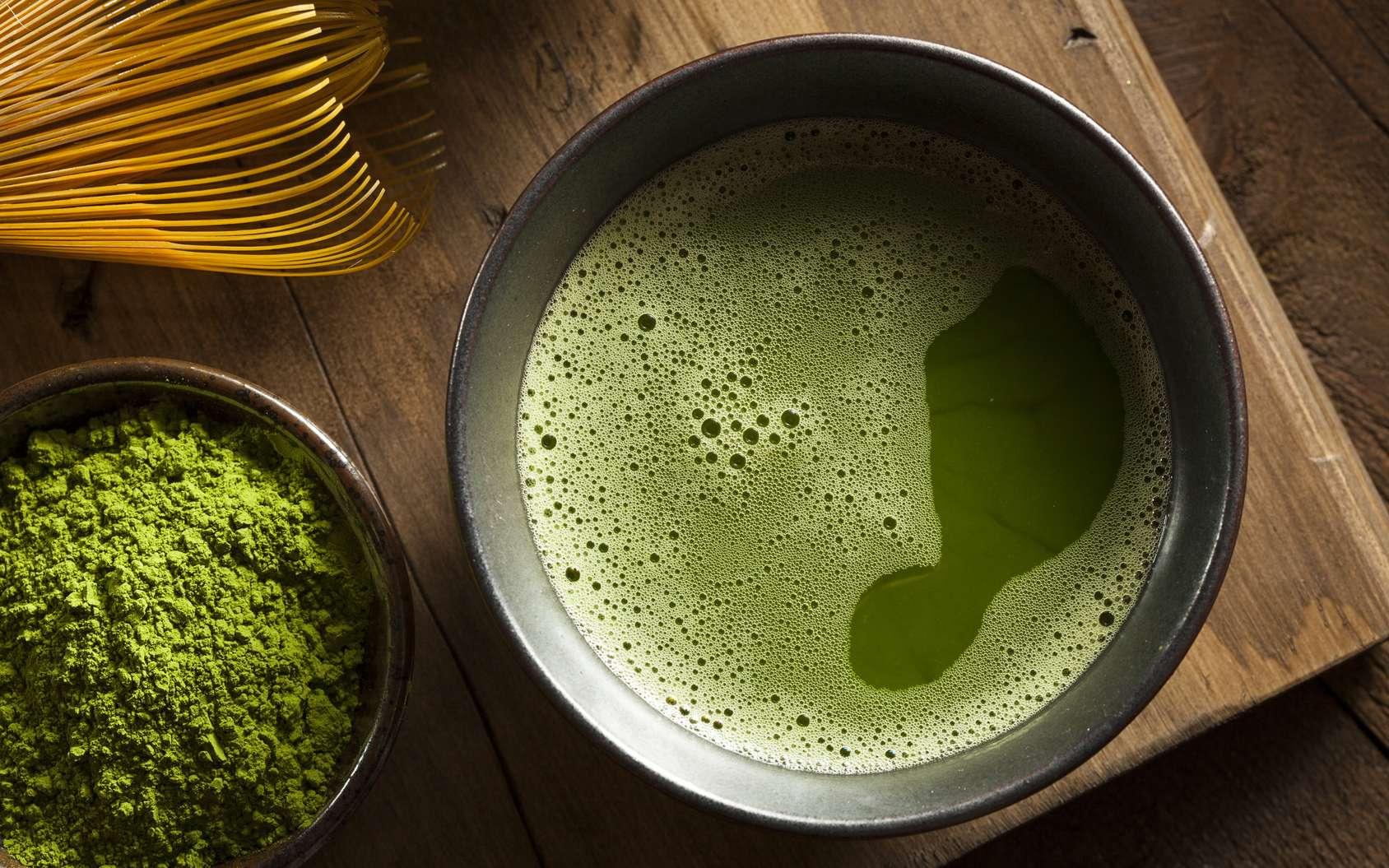 Le Japon ne produit que du thé vert, le noir étant plutôt occidental. Les variétés de thés verts dépendent principalement de la forme des feuilles. © Brent Hofacker, Fotolia