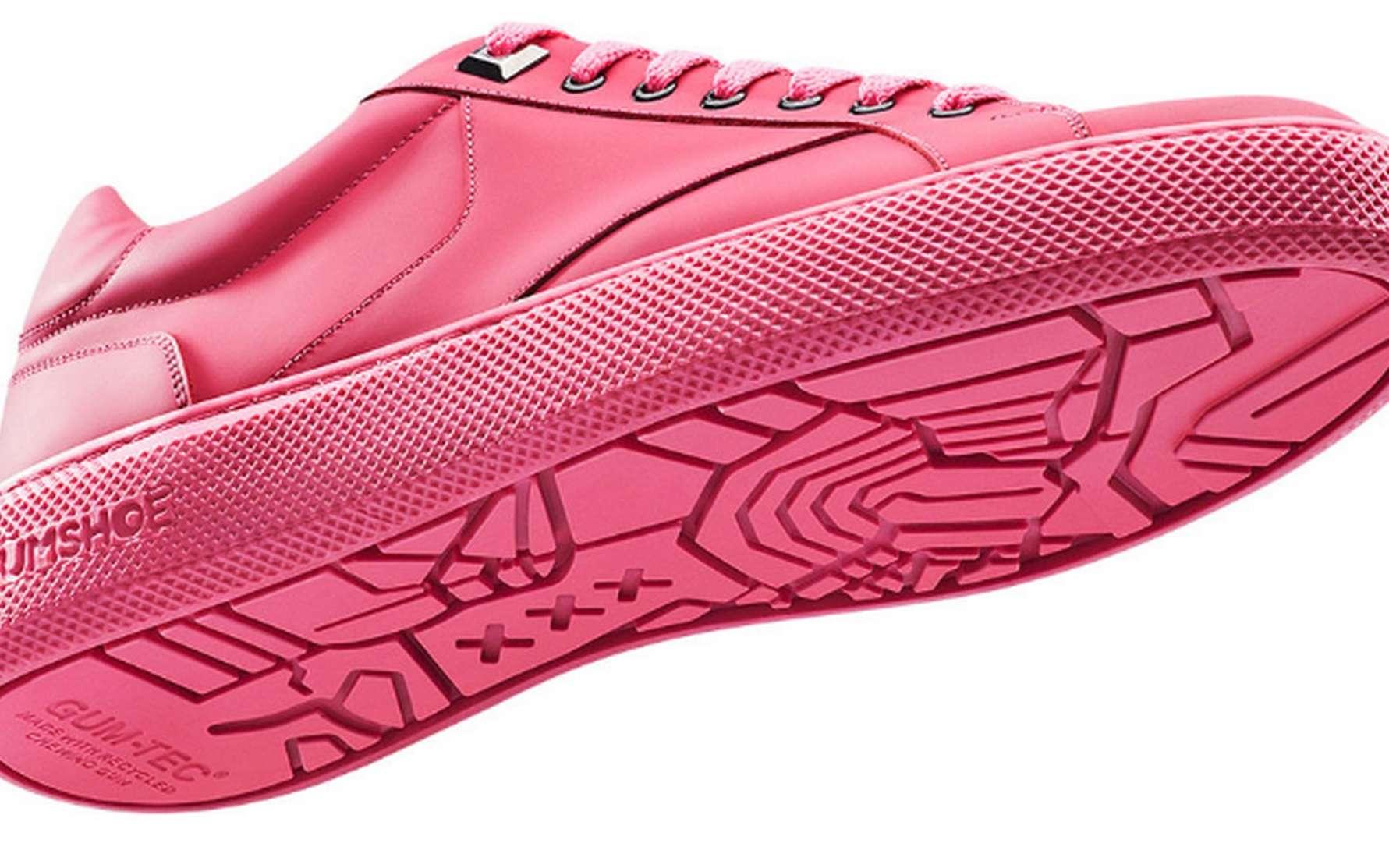 Une paire de Gumshoes coûte 190 euros, le prix de baskets de luxe. © Gumshoe