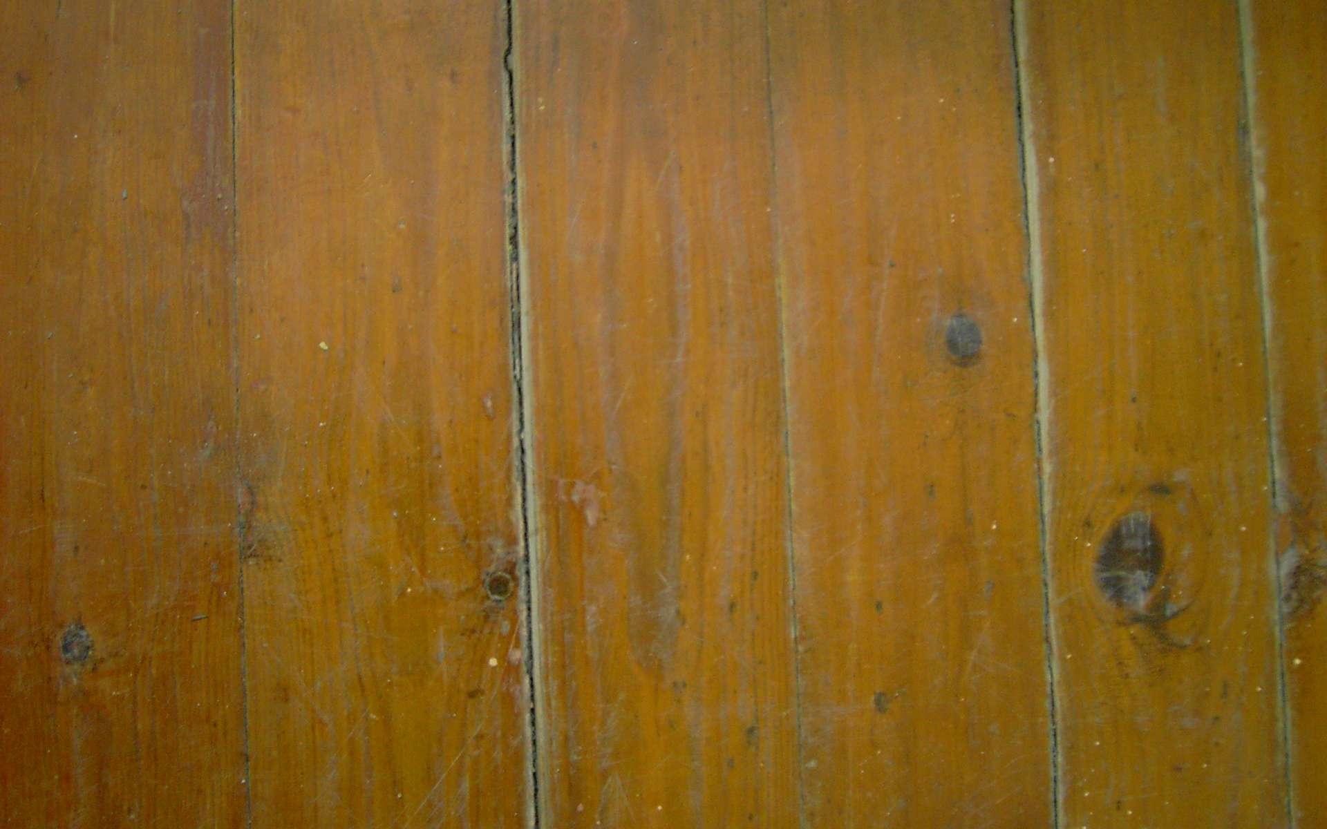 Le parquet traditionnel est un revêtement de sol en bois massif. © Papillus, CC BY-SA 3.0, Wikimedia Commons