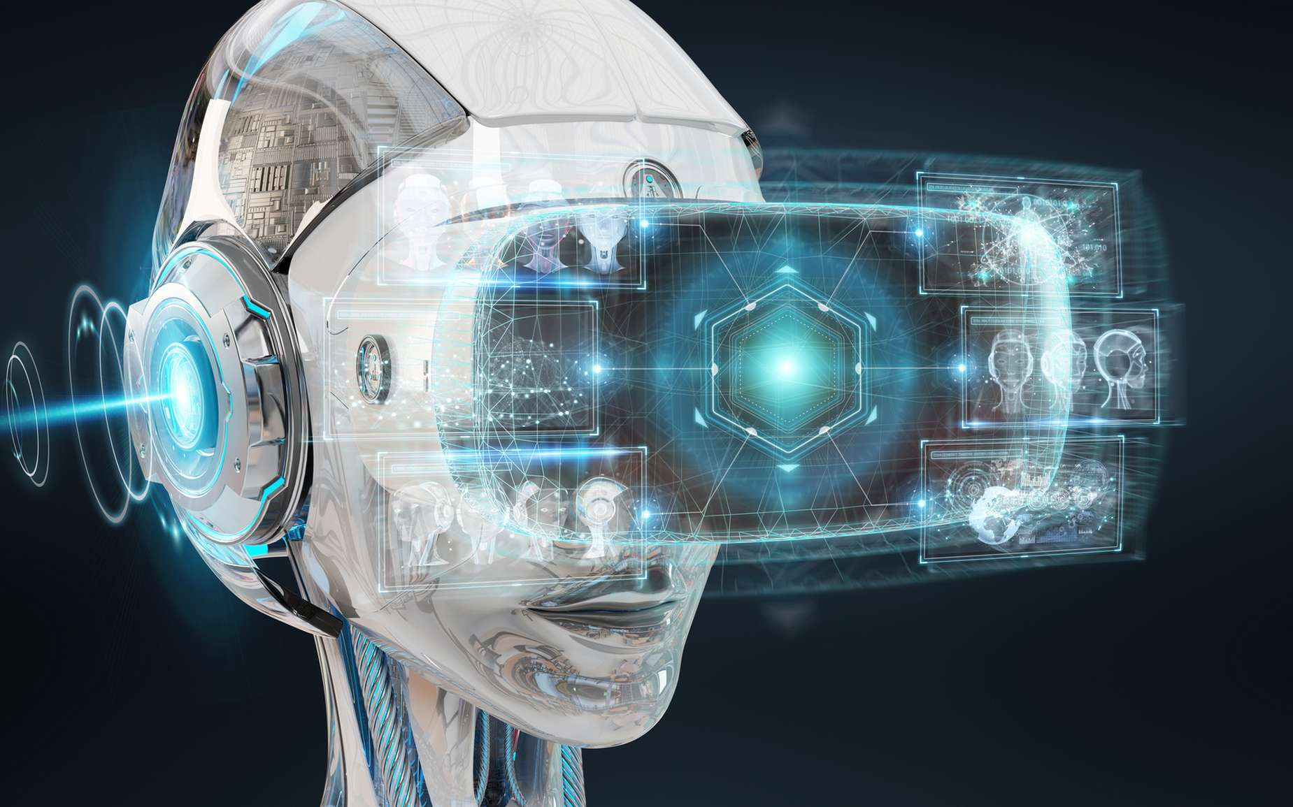 L'IA de Google DeepMind a surpassé des joueurs professionnels pour s'orienter dans un jeu vidéo en réalité virtuelle. © Sdecoret, Fotolia