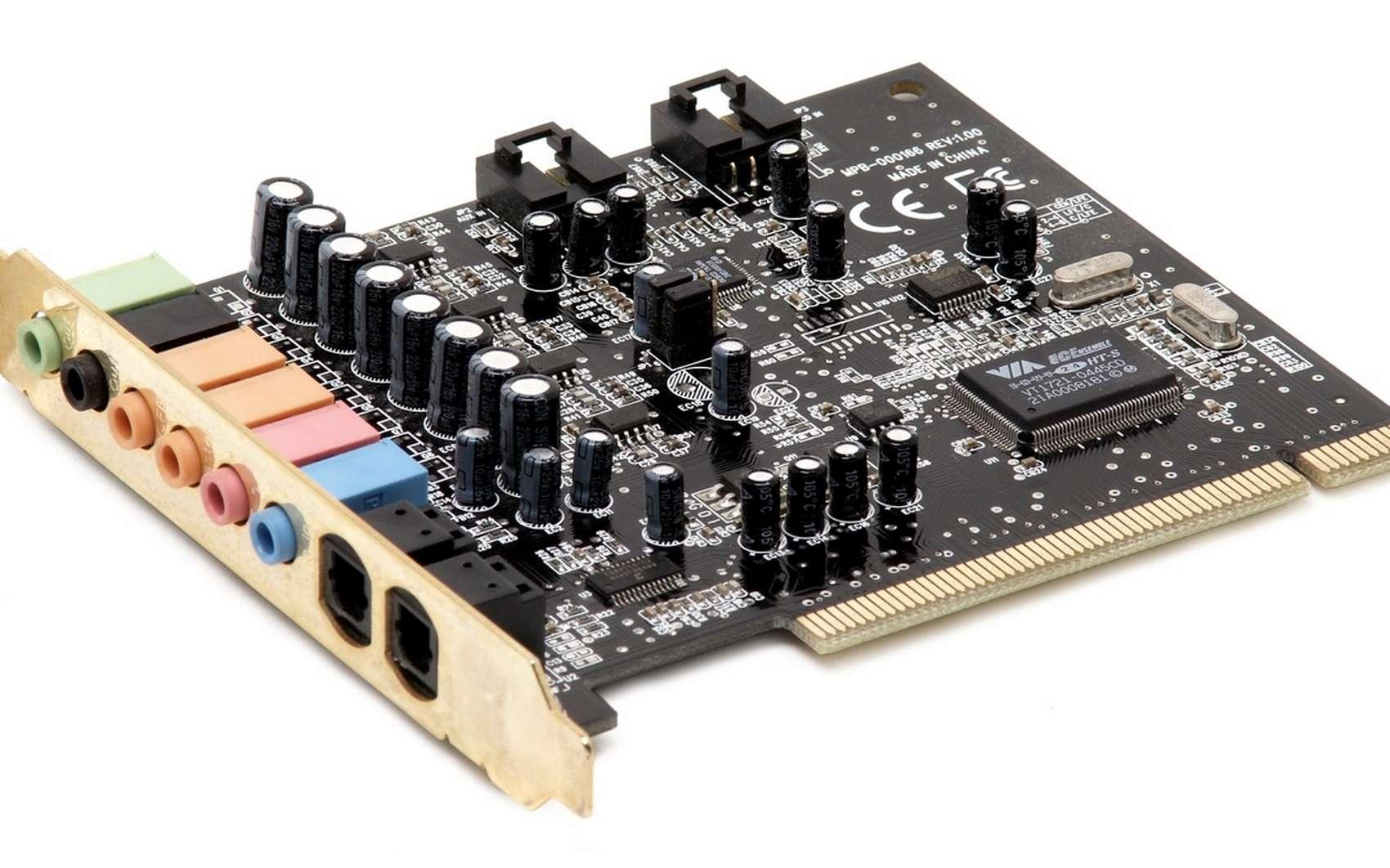 Une carte son est un périphérique dédié à générer des sons sur un ordinateur. © Pxhere, Domaine public, CC0