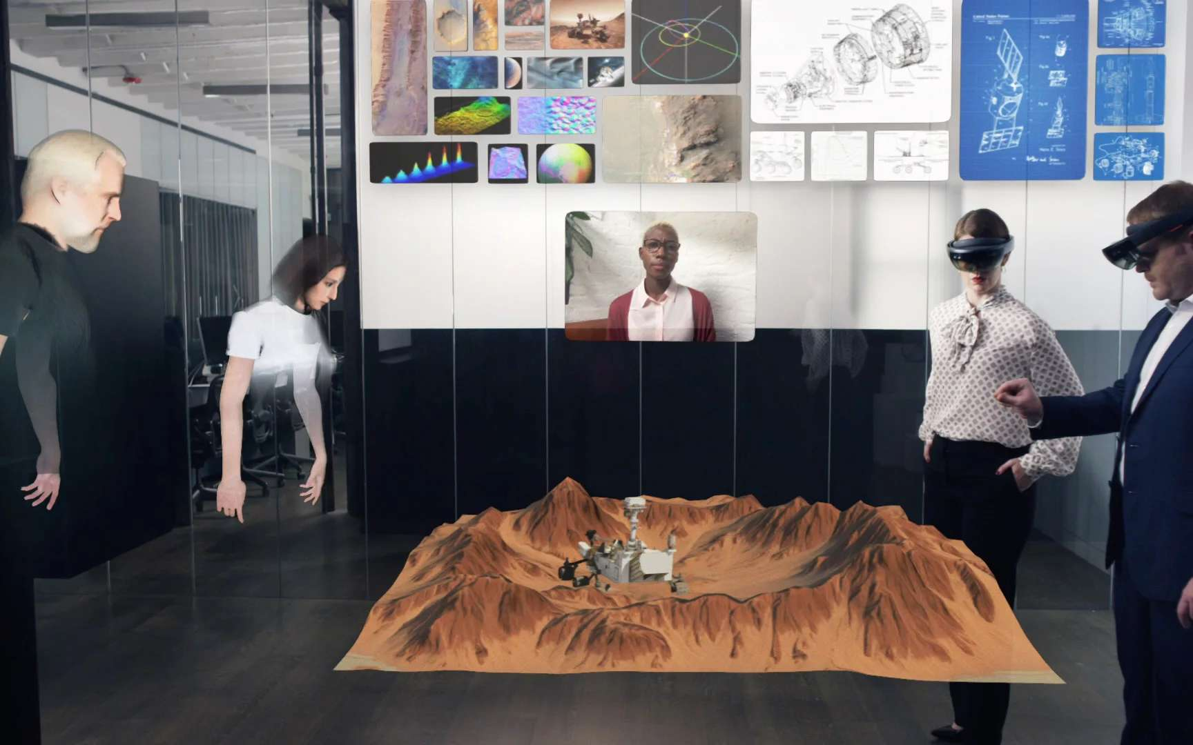 Des réunions 3Ddans Spatial avec ou sans casque de réalité virtuelle © Spatial