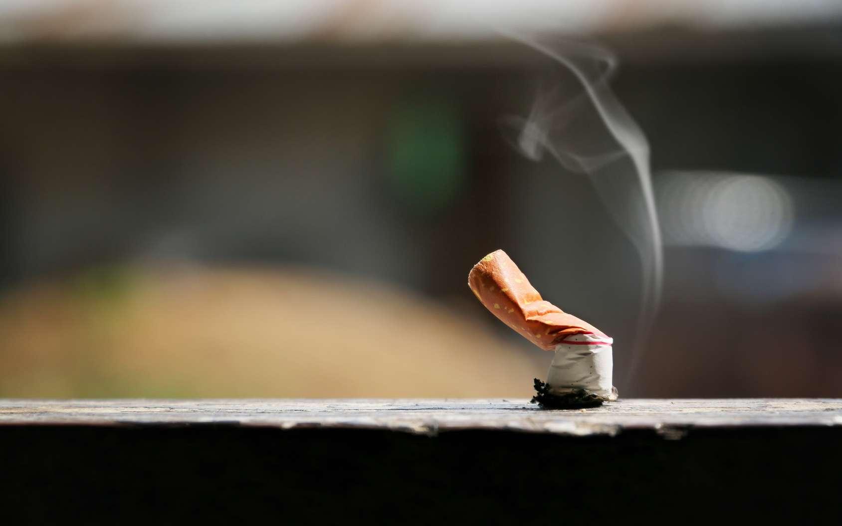 Les filtres des cigarettes sont censés bloquer une grande partie des substances cancérogènes. © jetsadaphoto, Fotolia