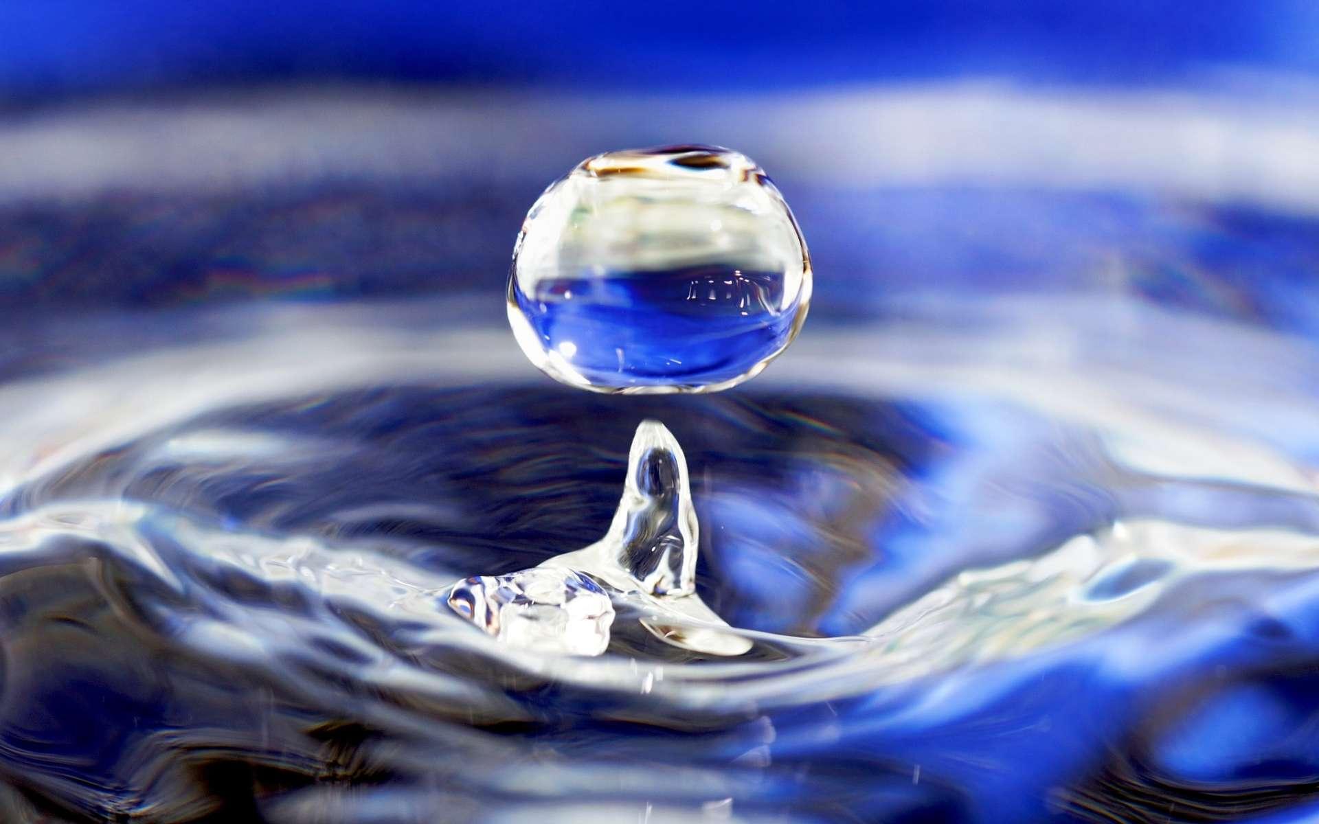 L'eau serait composée de deux liquides ! © José Manuel Suárez, Wikipédia, CC by 2.0