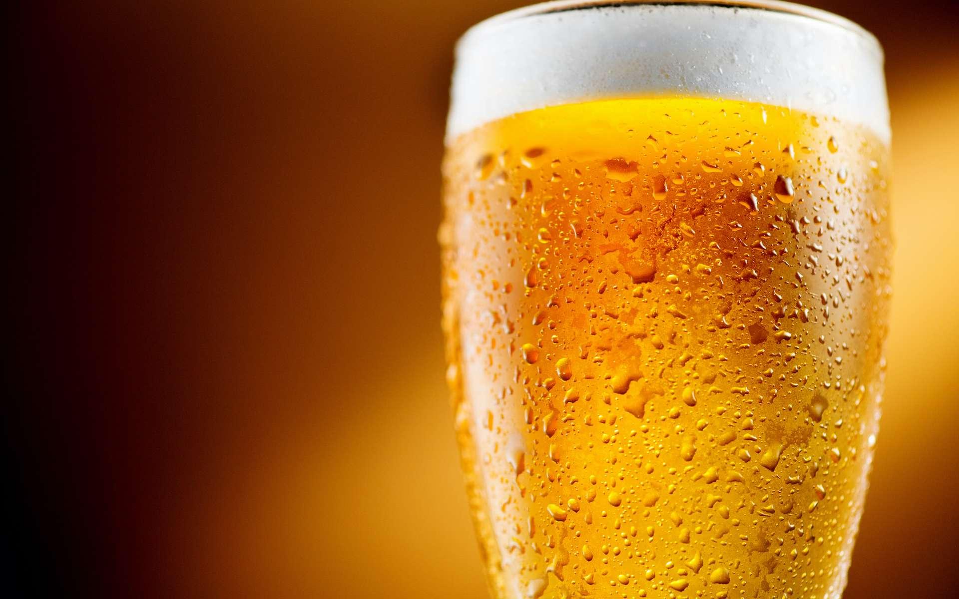 La bière sans alcool titre moins de 1,2 % d'alcool en volume. © Subbotina Anna, Adobe Stock