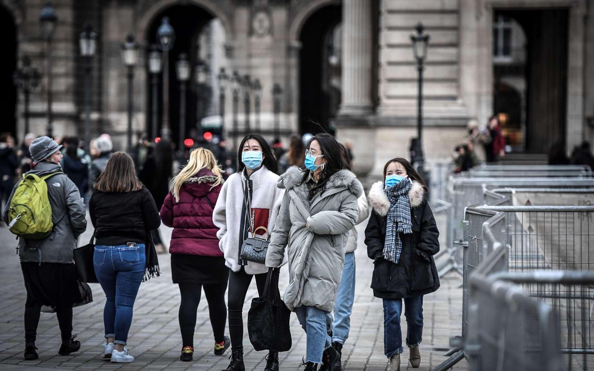 Le point sur l'épidémie de Covid-19 causée par le coronavirus Sars-CoV-2 en France. © Stéphane de Sakutin, AFP