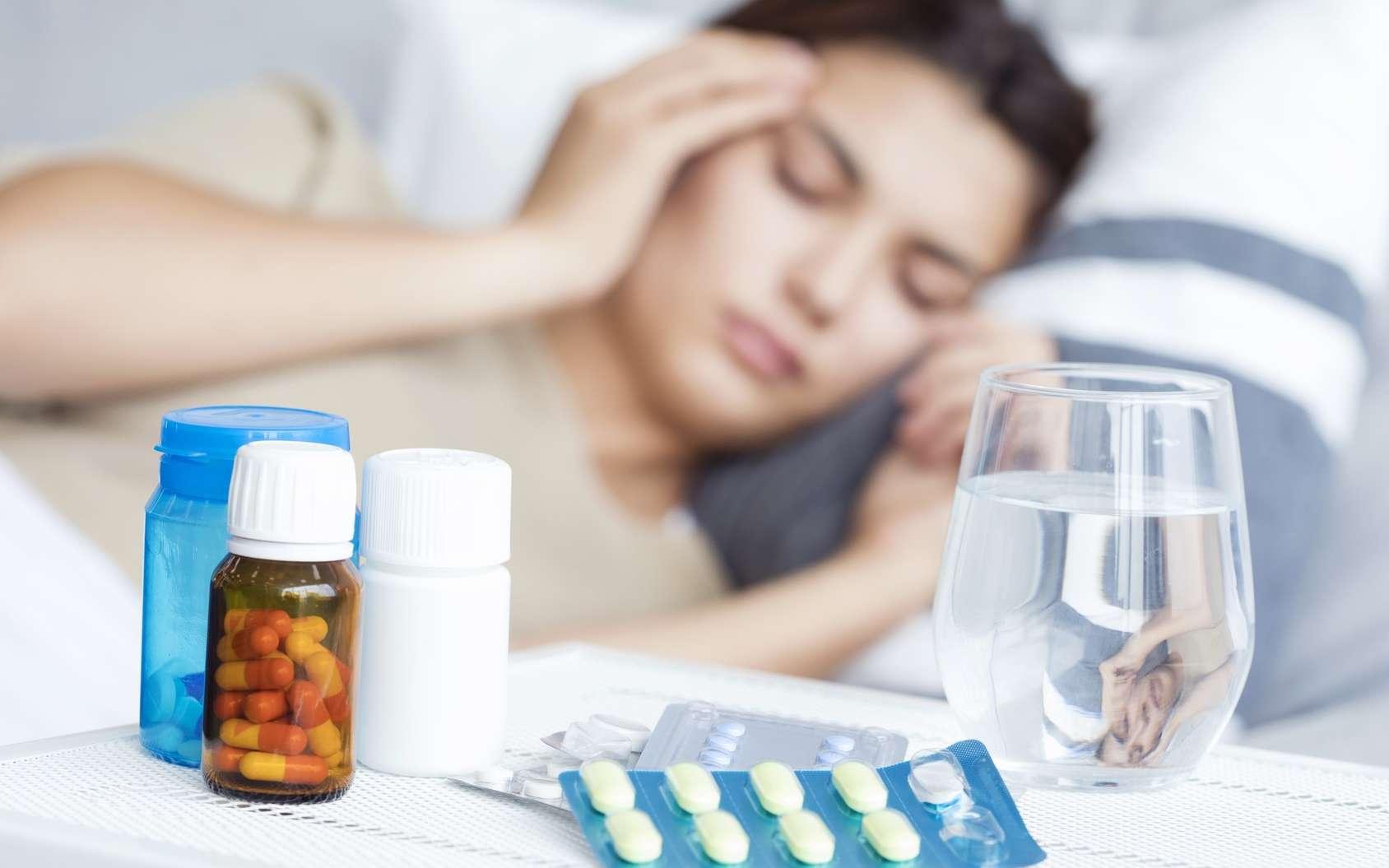 Plusieurs firmes pharmaceutiques développent une nouvelle génération de médicaments, des anticorps monoclonaux, pour prévenir la migraine. © sebra, Fotolia