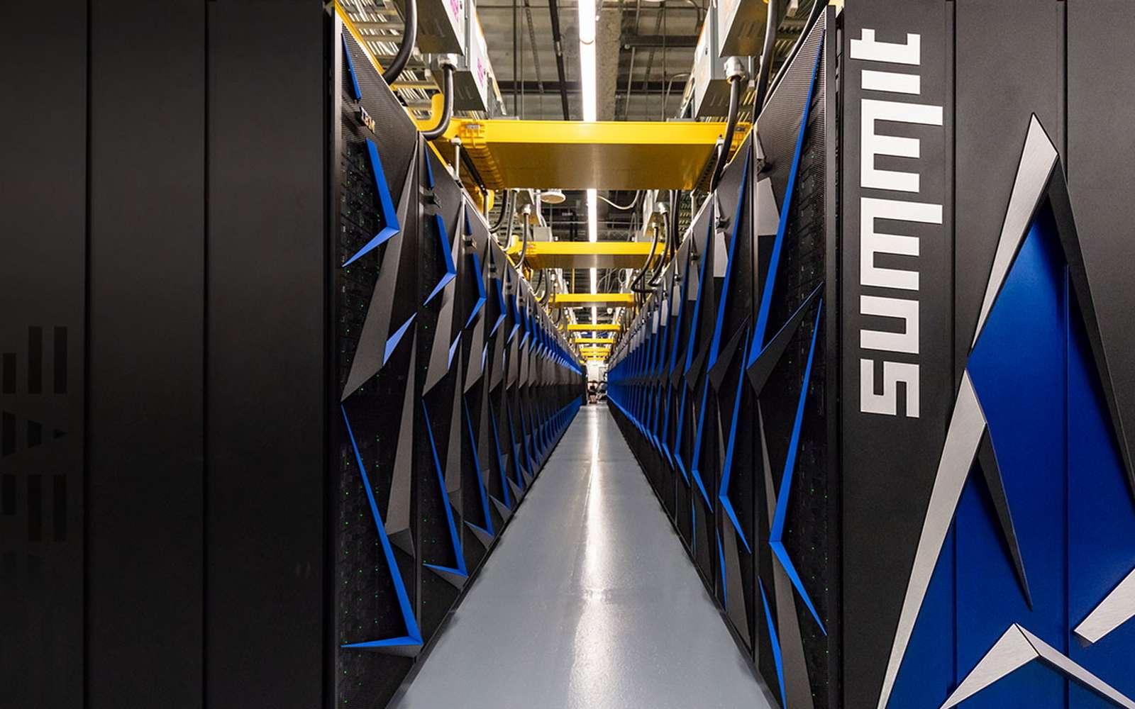 Le supercalculateur le plus puissant du monde a découvert 77 molécules candidates pour un traitement contre le coronavirus. © IBM
