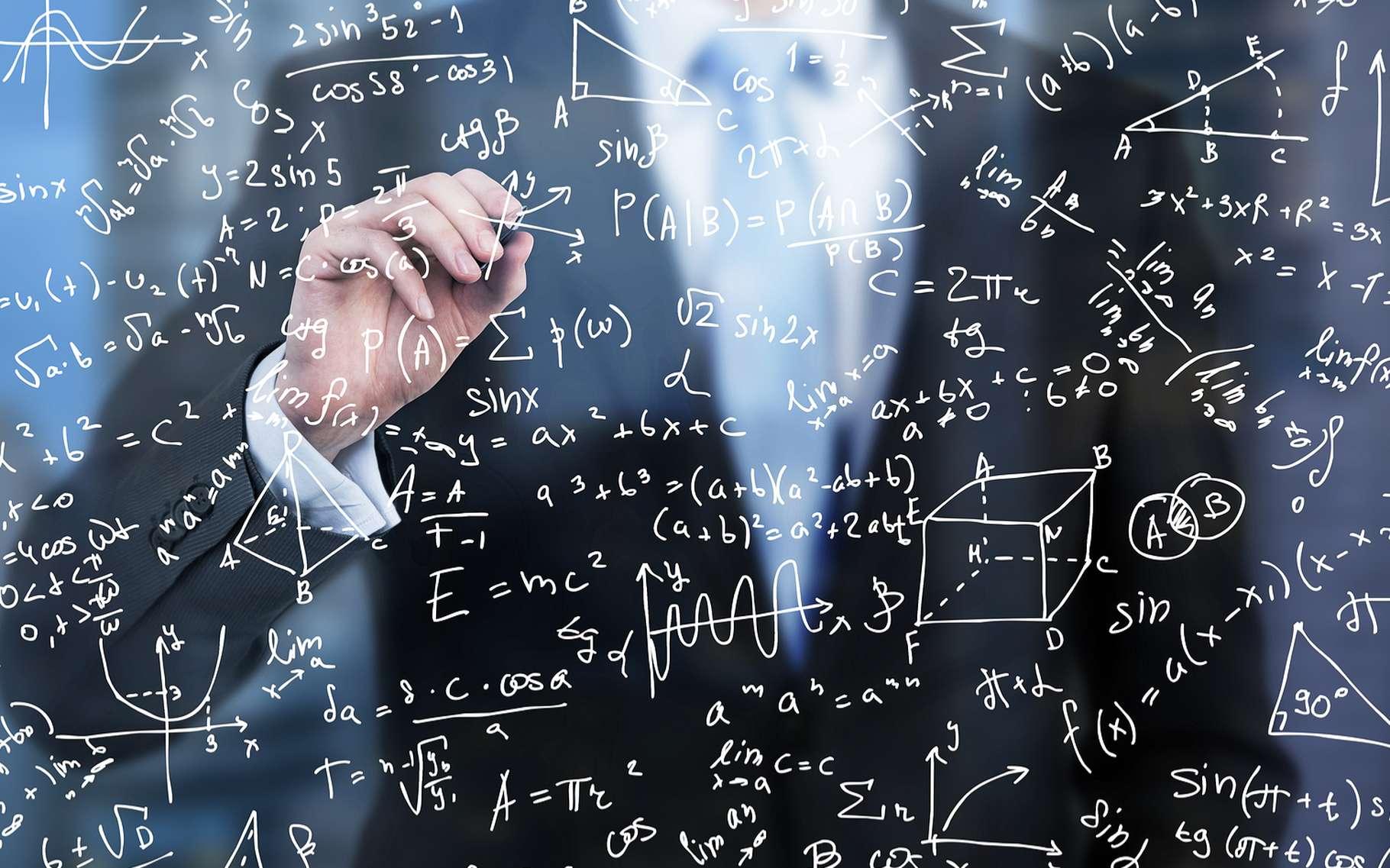 Malgré ce que l'on pourrait naturellement penser, les physiciens seraient presque aussi allergiques aux mathématiques que le commun des mortels! © ImageFlow, Shutterstock