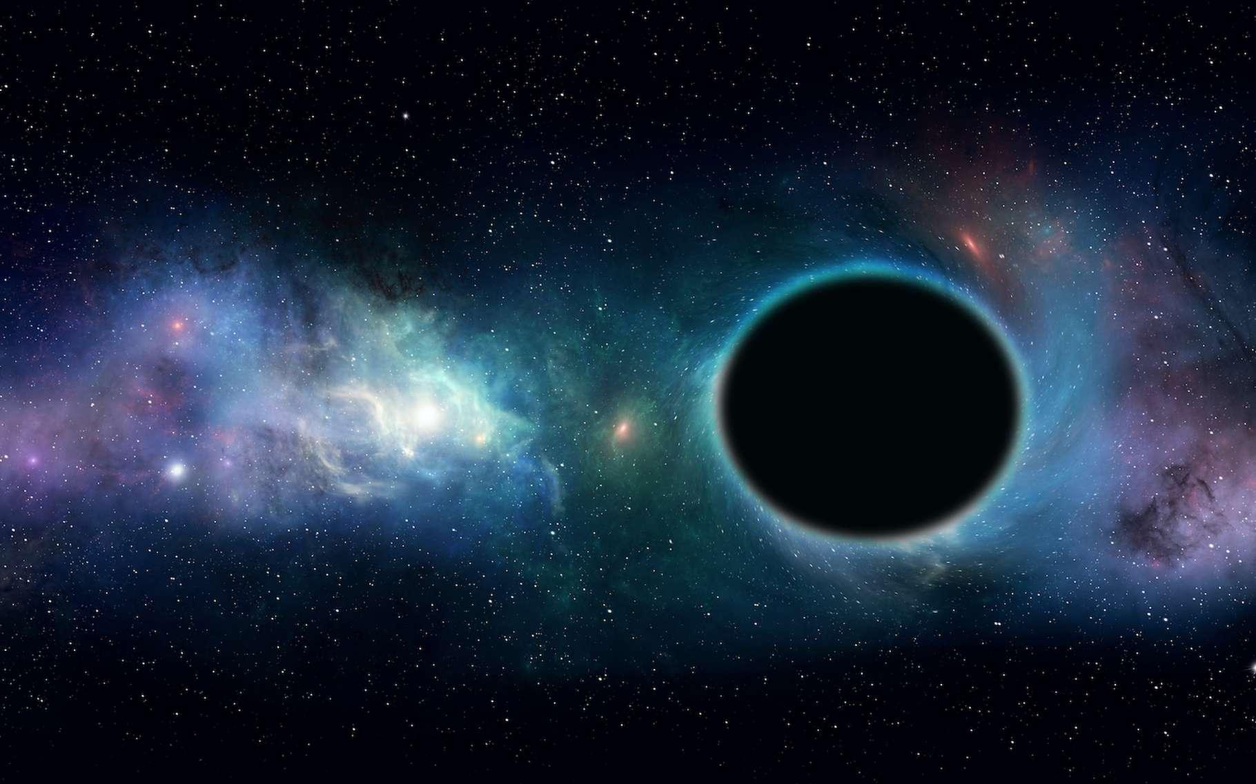 Les trous noirs se développent de manière différente, en fonction de leur masse et de leur « décalage vers le rouge », c'est-à-dire de leur éloignement à la Terre. © alex_aldo, Adobe Stock