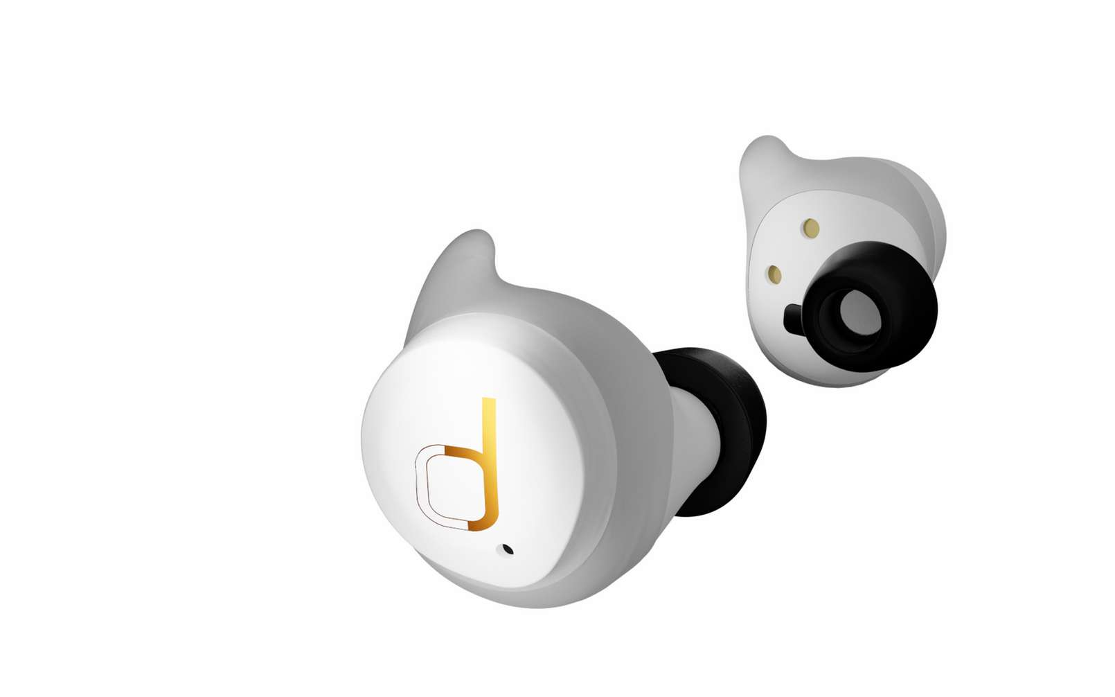 Les écouteurs Bluetooth Divacore AntiPods 2. © Divacore