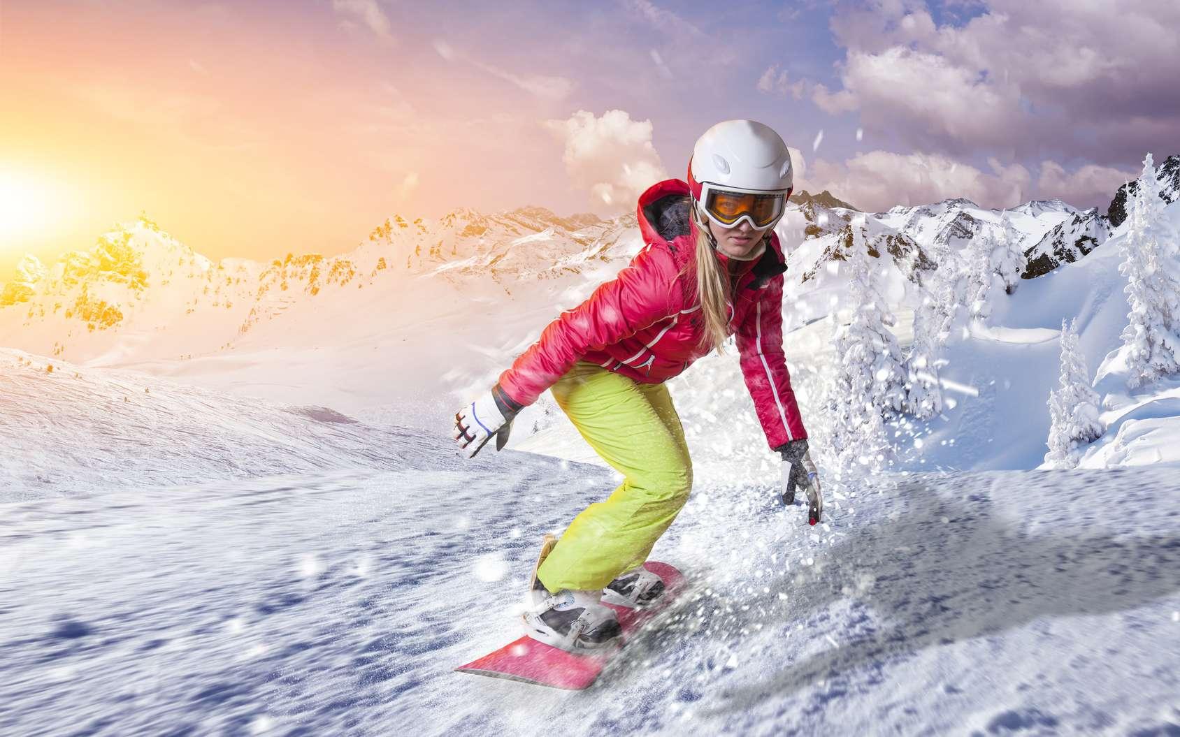 Le snowboard en mode big air fait son entrée au programme des Jeux olympiques d'hiver 2018. © Herrndorff, fotolia