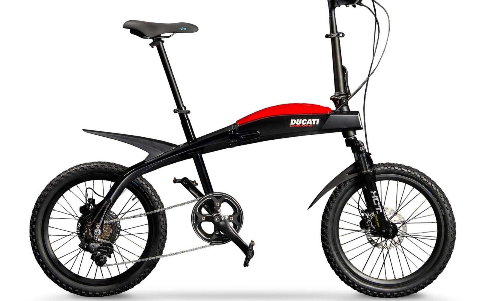 Le Ducati Urban-E joue sur l'élégance à l'italienne avec son design signé Giugiaro. © Ducati