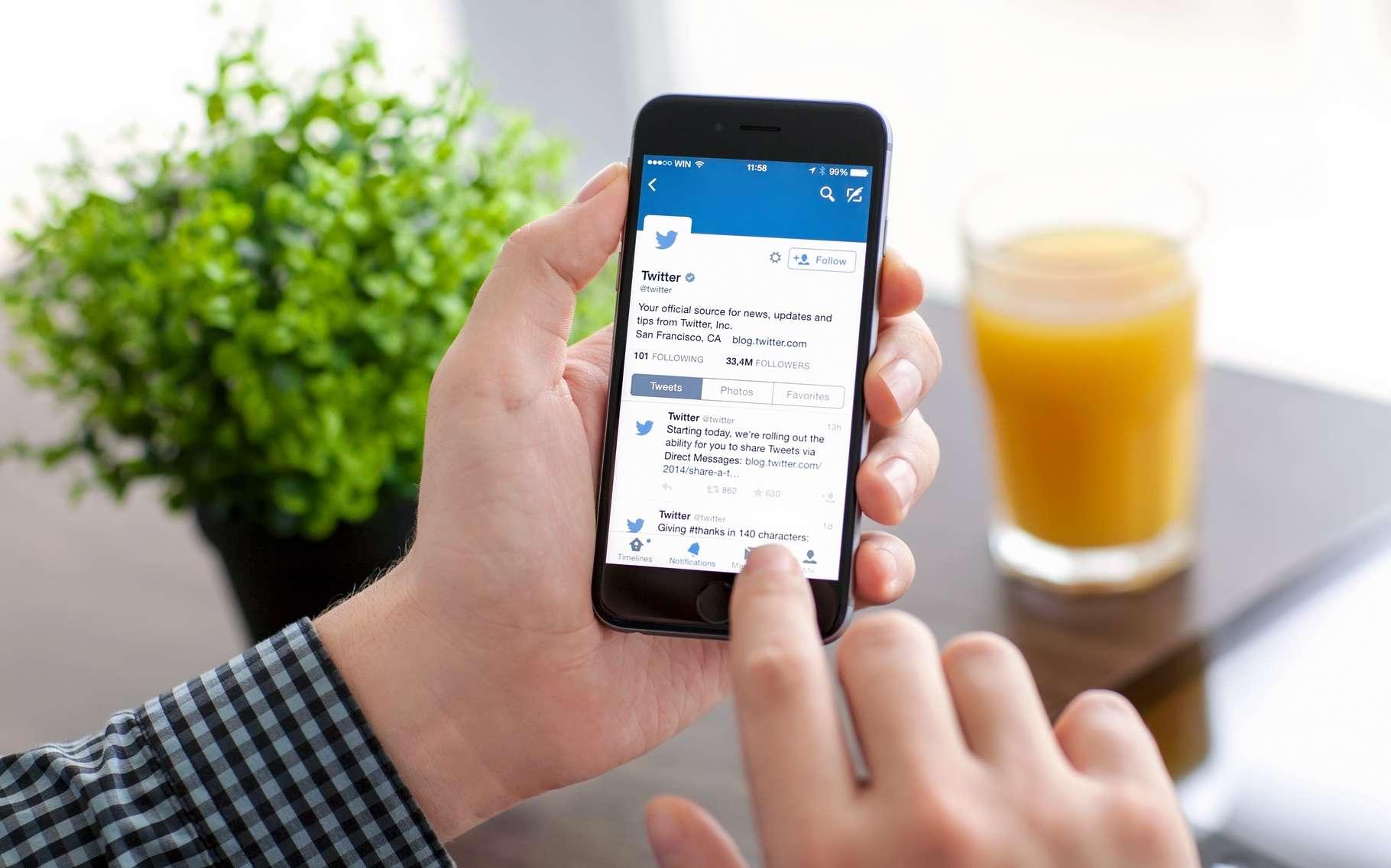 L'analyse de messages Twitter par un algorithme d'apprentissage automatique peut livrer des informations étonnantes de précision notamment en ce qui concerne votre consommation d'alcool. © Denys Prykhodov, Shutterstock