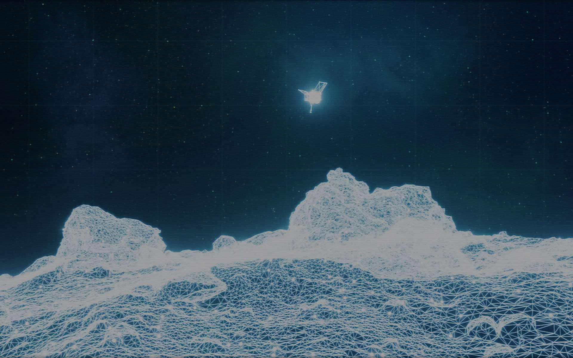 Les ingénieurs de la Nasa ont prévu de poser, le 20 octobre 2020, la sonde Osiris-Rex sur l'astéroïde Bennu et d'y prélever des échantillons de roche. © Nasa, Goddard Space Flight Center