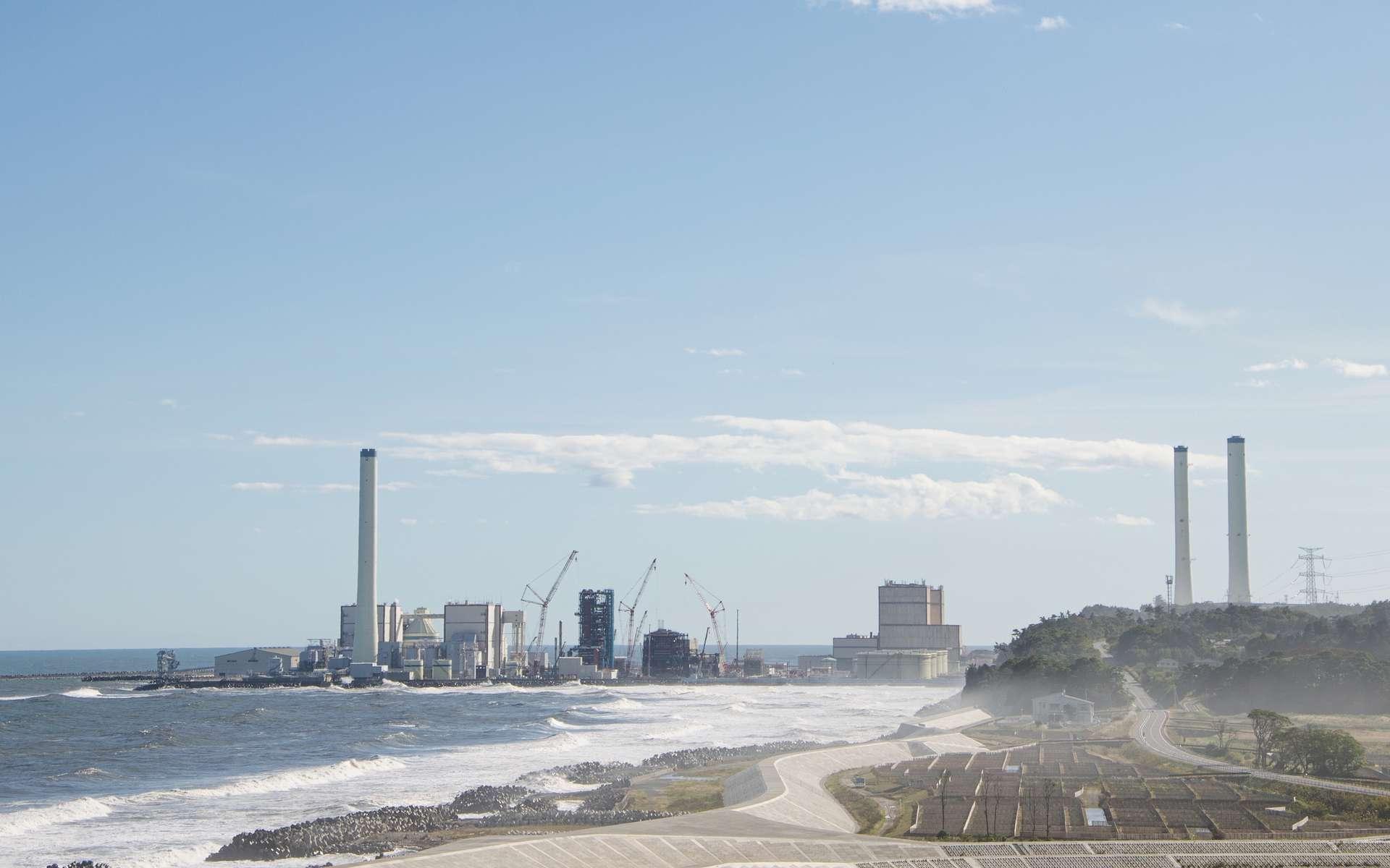 La centrale nucléaire de Fukushima, au Japon. © Santi, Adobe Stock