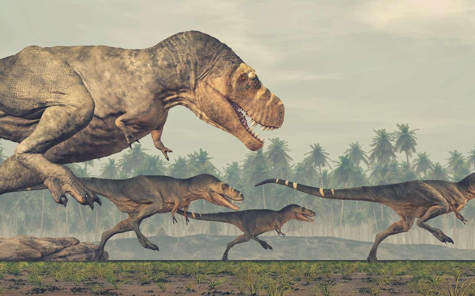 Pourrait-on faire revivre les dinosaures ? © Orlando Florin Rosu, fotolia