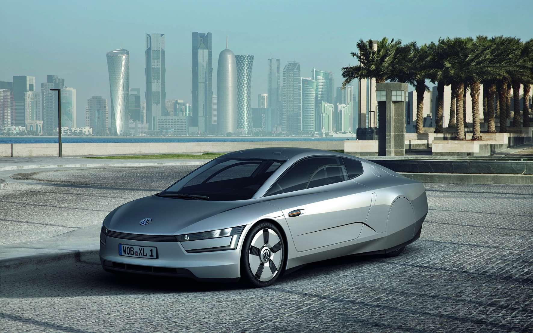 Une version série de la XL1 sera proposée dans deux ans. © Volkswagen