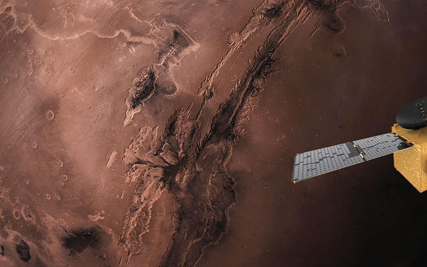 Mars accueille Hope, la première sonde spatiale des Émirats arabes unis - Futura