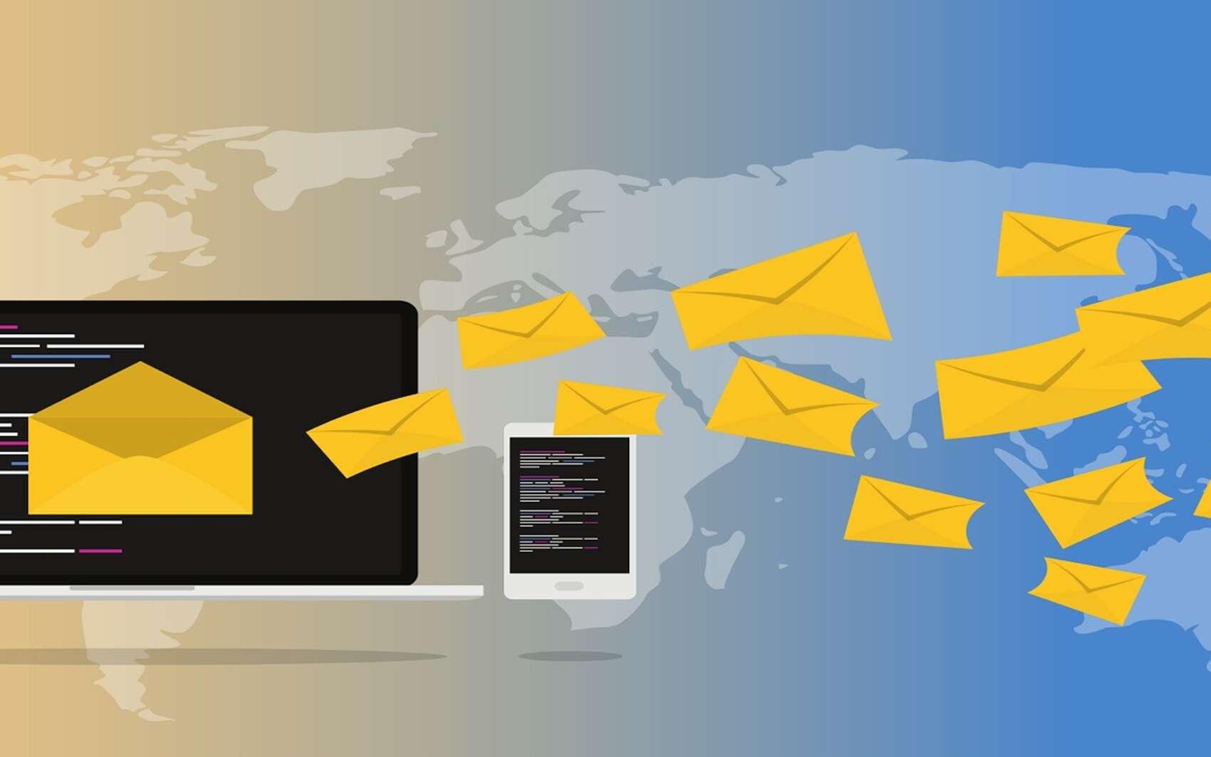 Futura vous explique comment éviter le pistage de vos e-mails sur Gmail et Outlook. © Muhammad Ribkhan from Pixabay