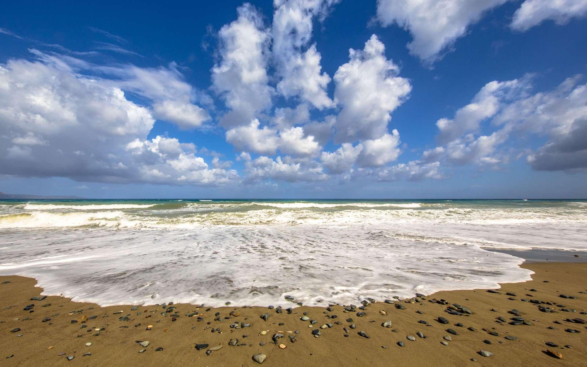 Vue sur la Mer Méditerranée depuis la plage ©CreativeNature nl, Envato Elements