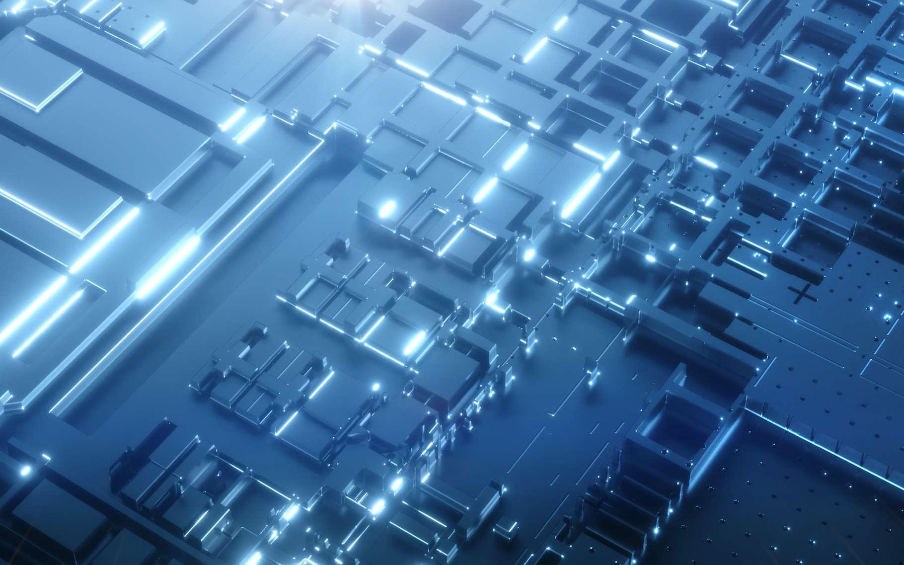 Grâce à un alliage à base de silicium, des chercheurs de l'université de technologie d'Eindhoven (Pays-Bas) pourraient bien révolutionner le secteur de l'électronique. © Bokehstore, Adobe Stock