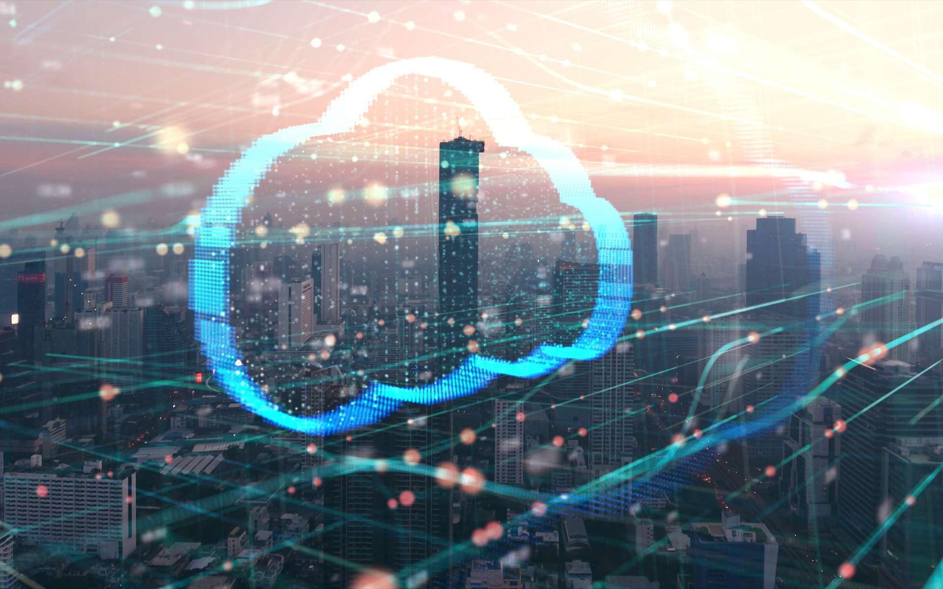 Accessible depuis n'importe quel support informatique, le cloud computing est présent partout dans le monde. © ekaphon, Adobe Stock