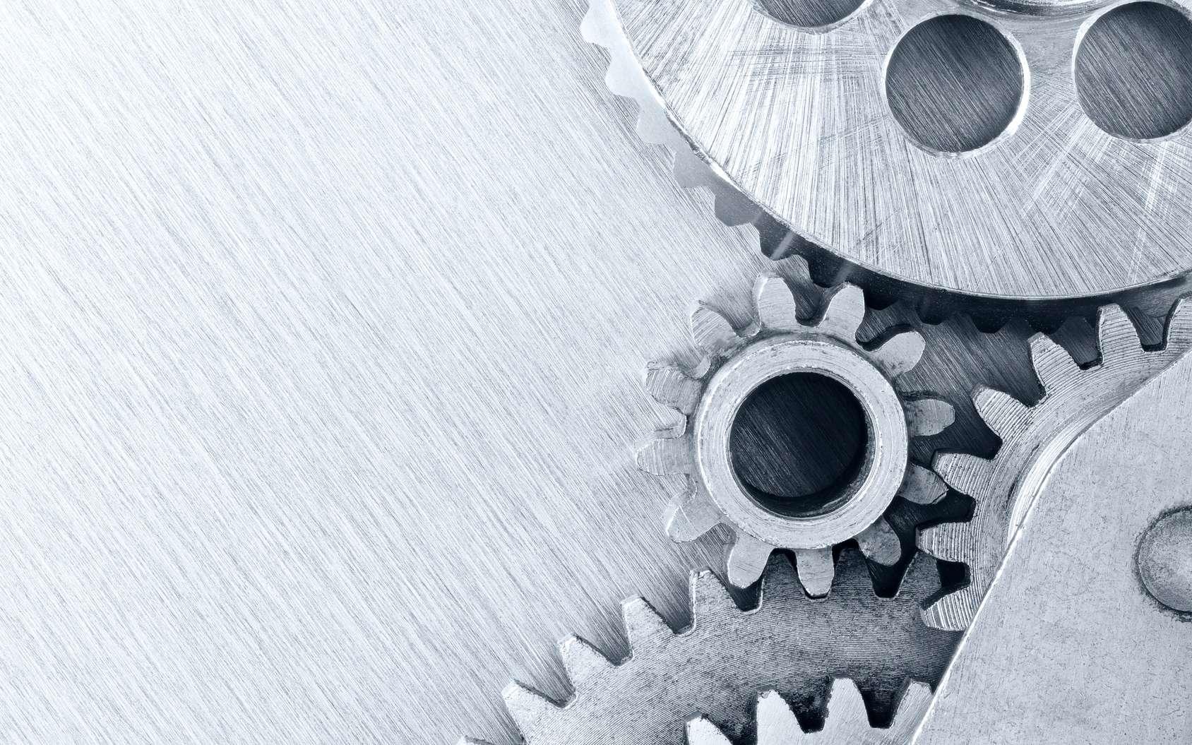 Une machine désigne un ensemble d'appareils dont le travail est le plus souvent mécanique. © Mr Twister, Fotolia