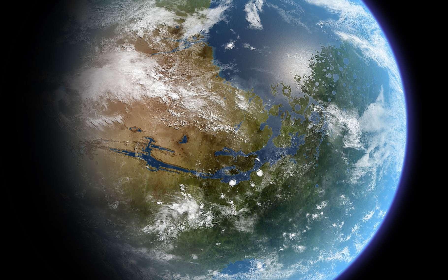 L Eau Sur Mars Comment A T Elle Disparu Dossier