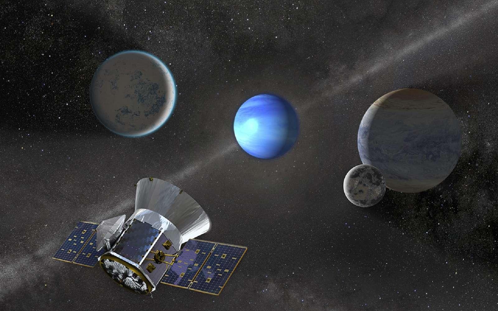 Le satellite Tess a découvert sa troisième exoplanète, HD 21749 b, et des volontaires ont aidé à identifier une planète de taille inhabituelle dans les données du télescope spatial Kepler, aujourd'hui à la retraite. © Nasa, MIT, Tess