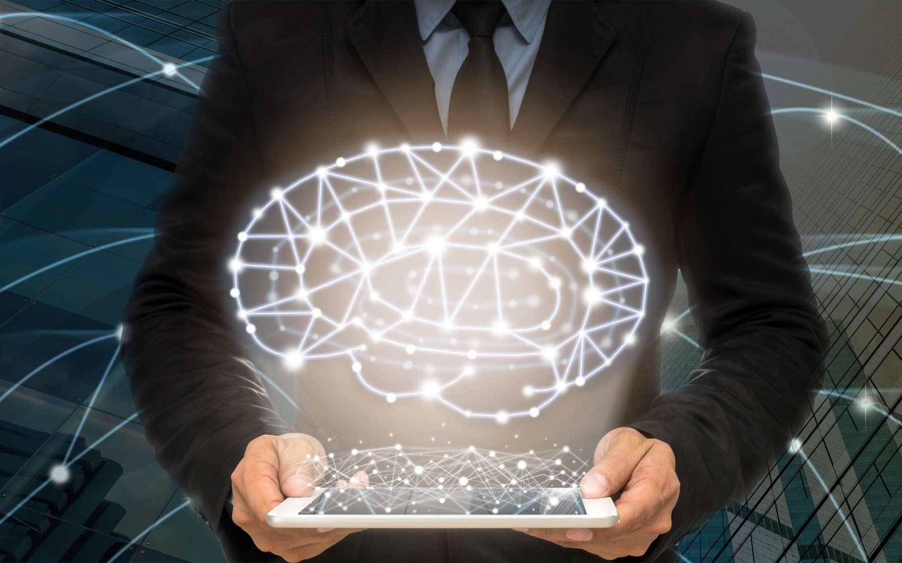 Le connectome représente la carte des réseaux du cerveau. © TZIDO SUN, Shutterstock
