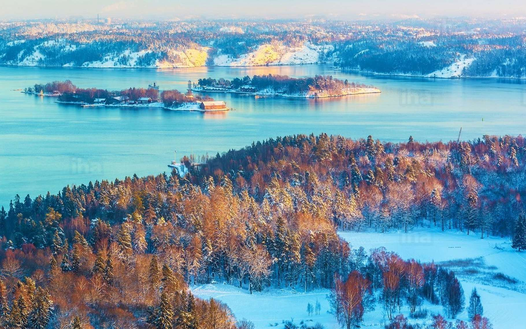 La Finlande veut réduire ses émissions de CO2 et met la priorité sur les énergies renouvelables. © Oleksiy Mark @CC, IHA