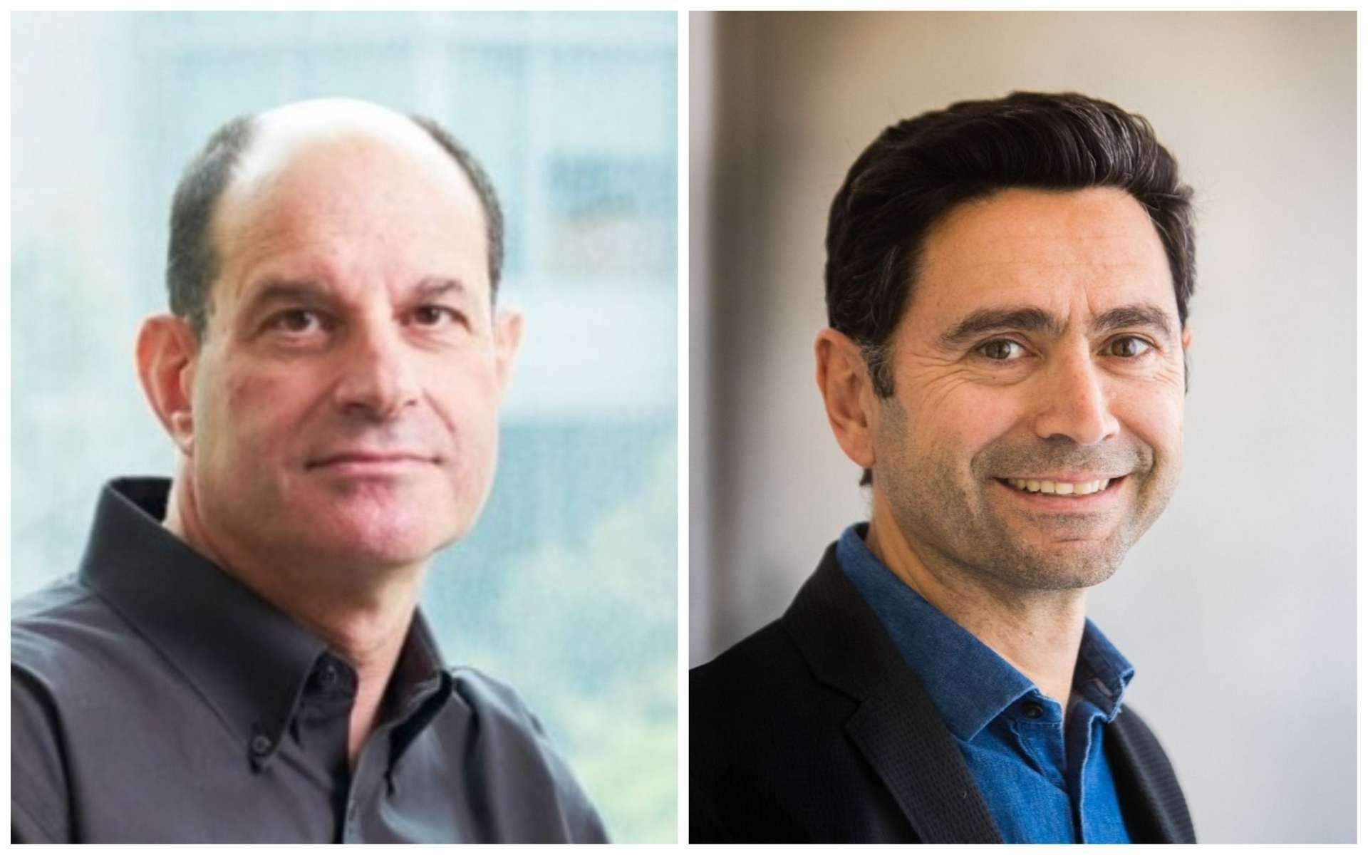 David Julius, à gauche, et Ardem Patapoutian, à droite, lauréats du prix Nobel de médecine 2021. © Steve Babuljak, UCSF, Amacad
