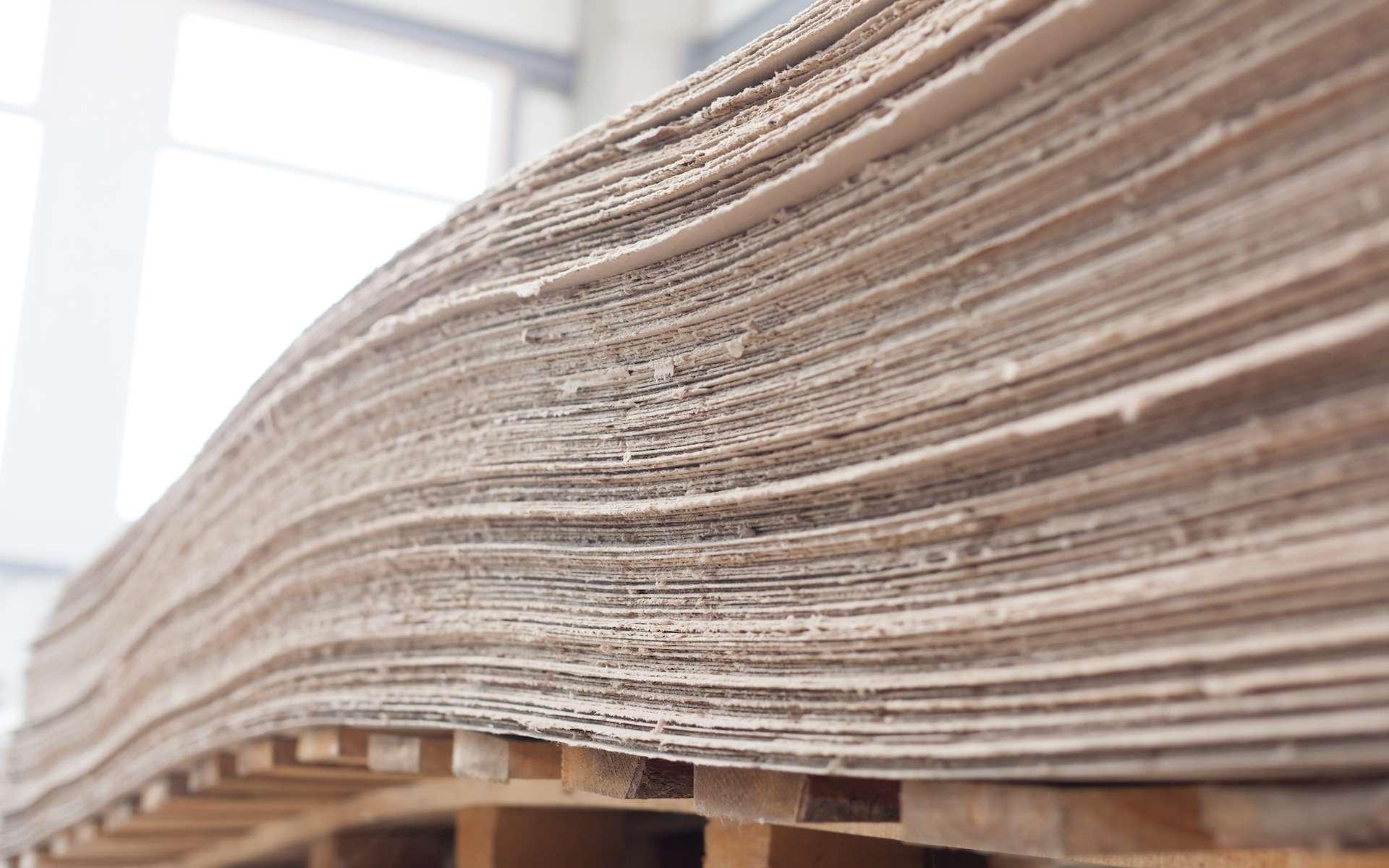 Même si elle perd en qualité au cours du processus, une feuille de papier peut être recyclée une dizaine de fois. © aerogondo2, Shutterstock