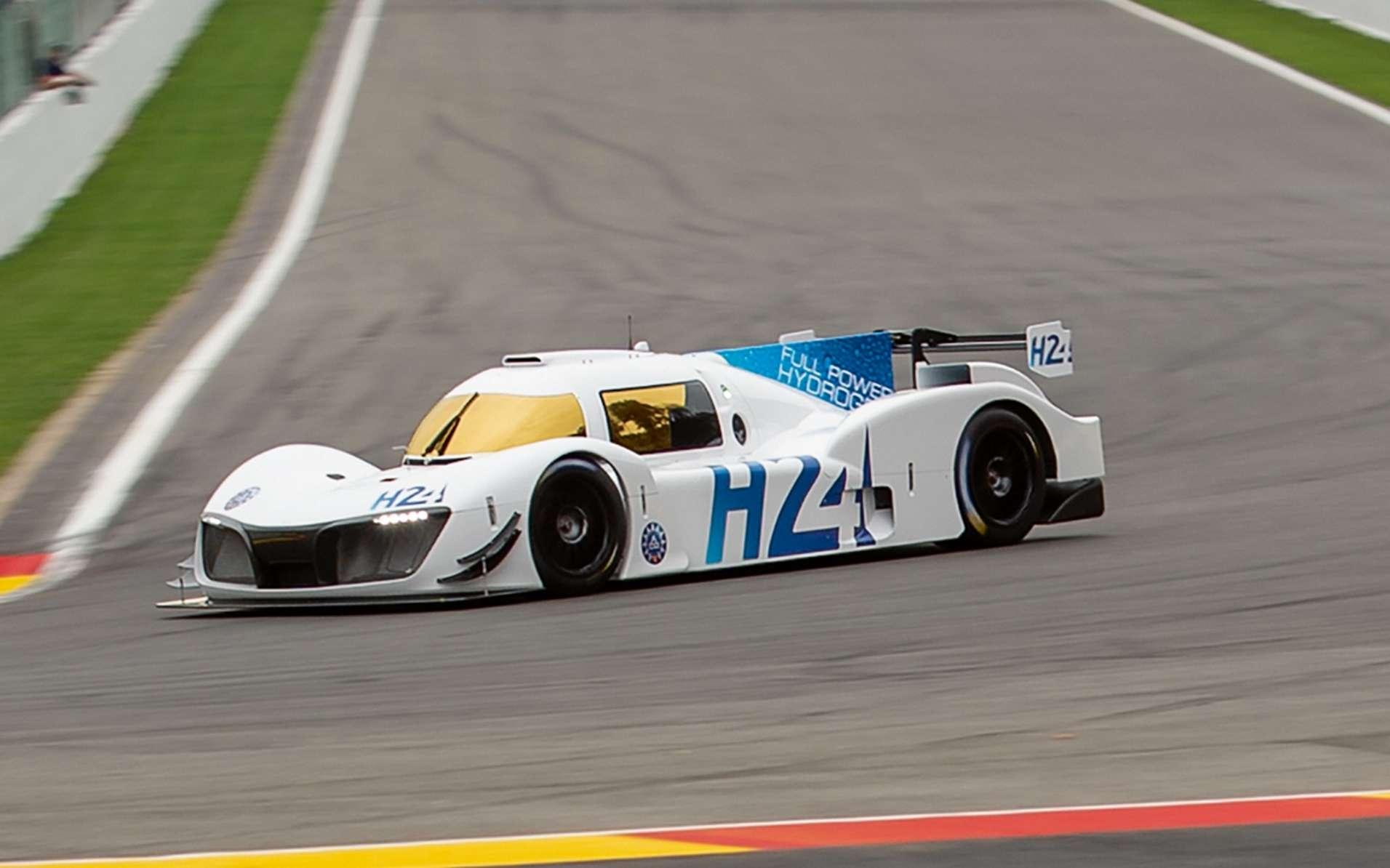 Le prototype à hydrogène LMPH2G de GreenGT. © GreenGT