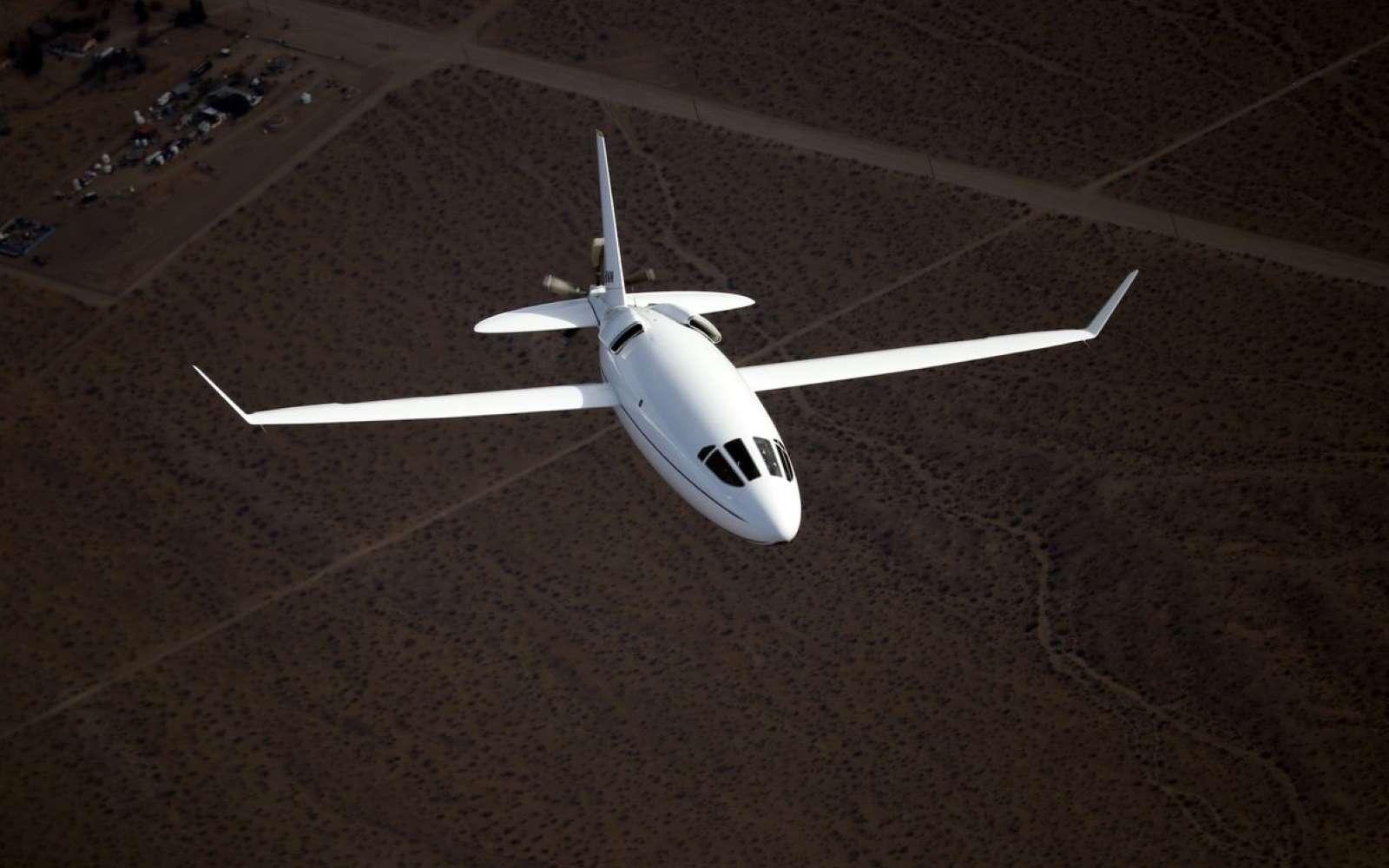 Le Celera 500L est conçu pour émettre 80 % de moins de carbone qu'un avion d'affaires équivalent. © Otto Aviation