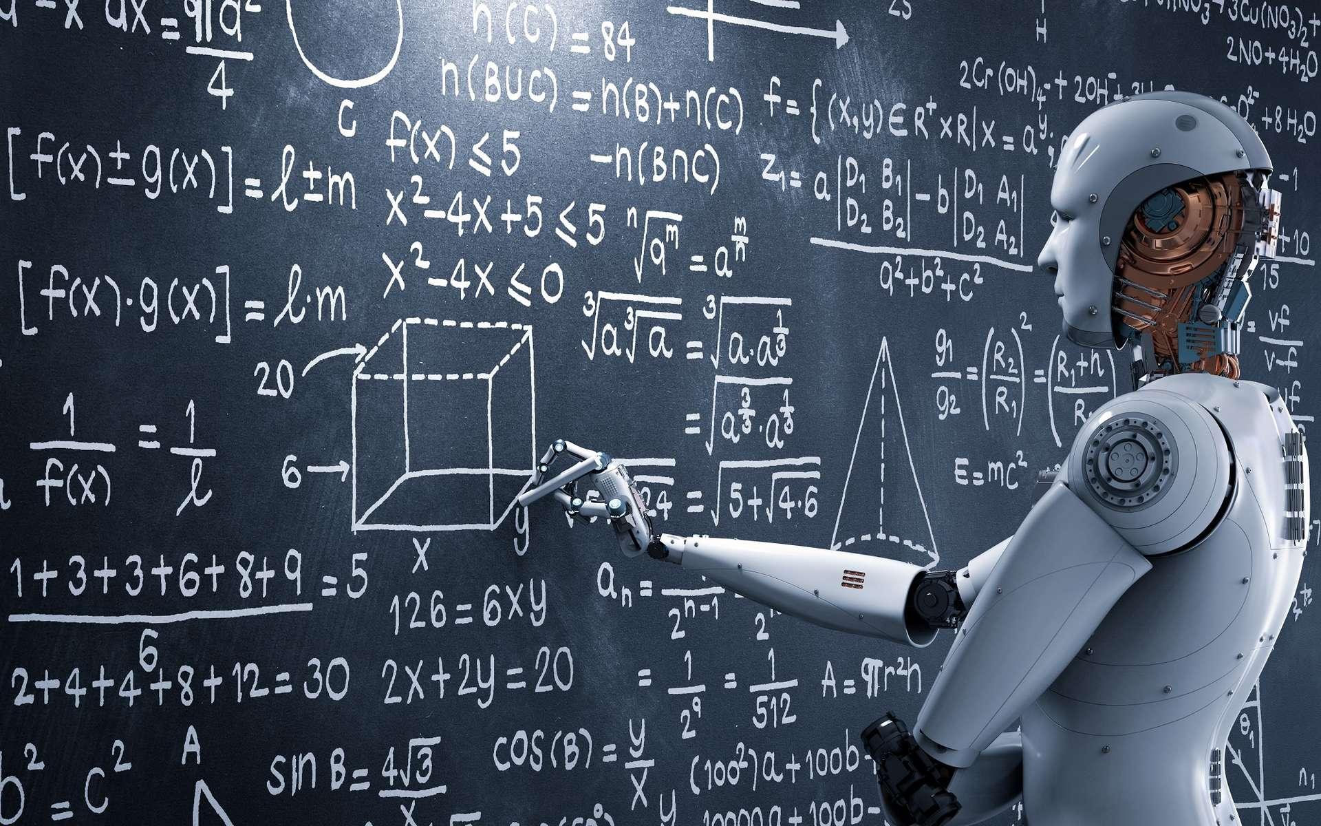 L'ingénieur en intelligence artificielle va créer des programmes informatiques pour que la machine raisonne comme l'Homme, les émotions en moins. © phonlamaiphoto, Adobe Stock