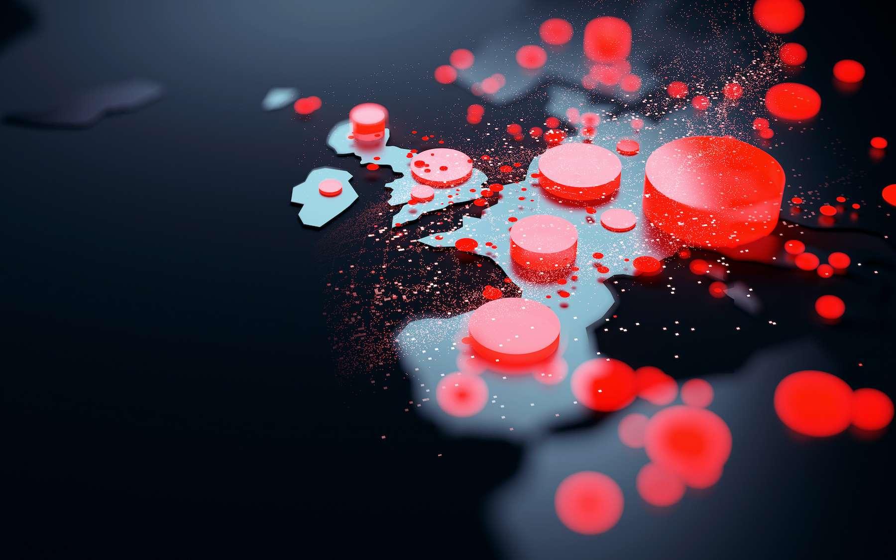 Coronavirus : une variante espagnole du virus à l'origine de la deuxième vague meurtrière en Europe