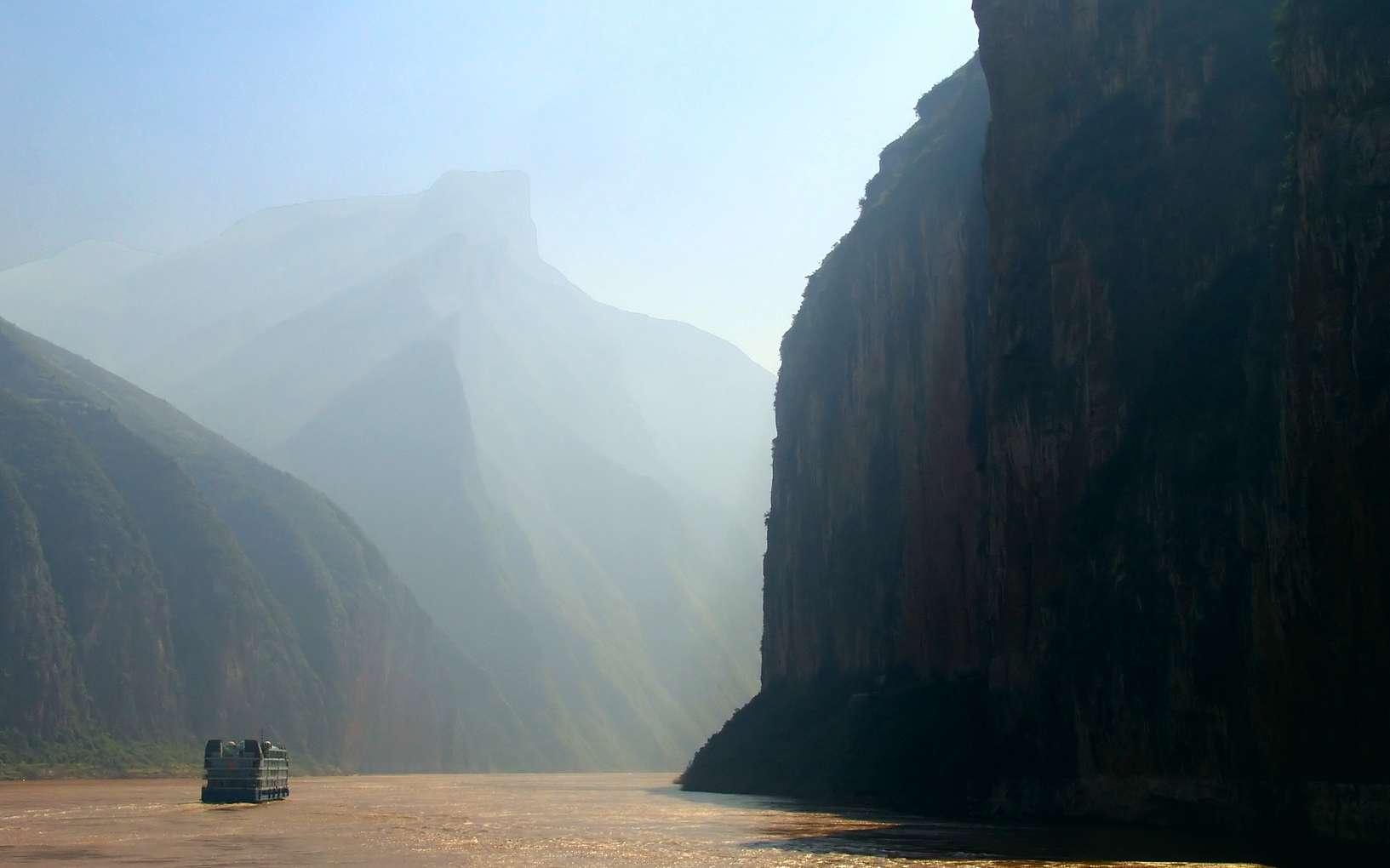 Il y a 5.000 ans, le long du fleuve Jaune, en Chine, dans l'actuelle province du Shandong, prospérait une société d'agriculteurs, où l'on était, semble-t-il, plus grand que la moyenne. © hapa7, Fotolia