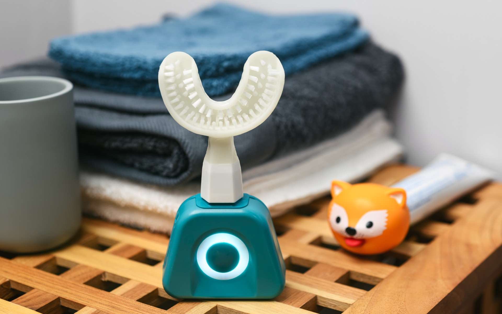 Le brossage de dents est un enjeu majeur de l'hygiène bucco-dentaire. © Y-Brush