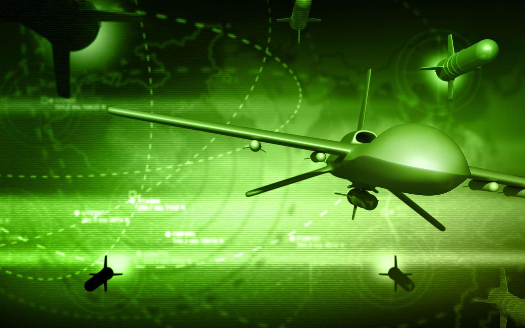 Un système de propulsion nucléaire intégré à des drones militaires conférerait un avantage stratégique majeur à la Chine. © Petrovich12, Fotolia