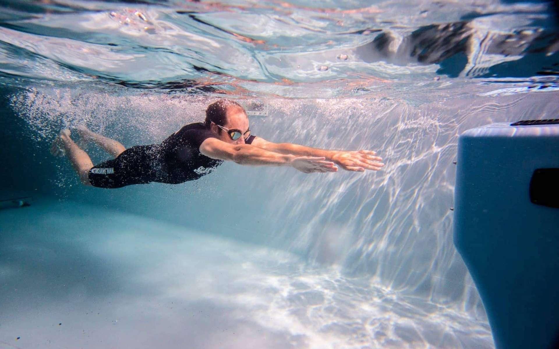 La nage à contre-courant est possible à partir de 3,50 mètre de longueur utile. © Swimform